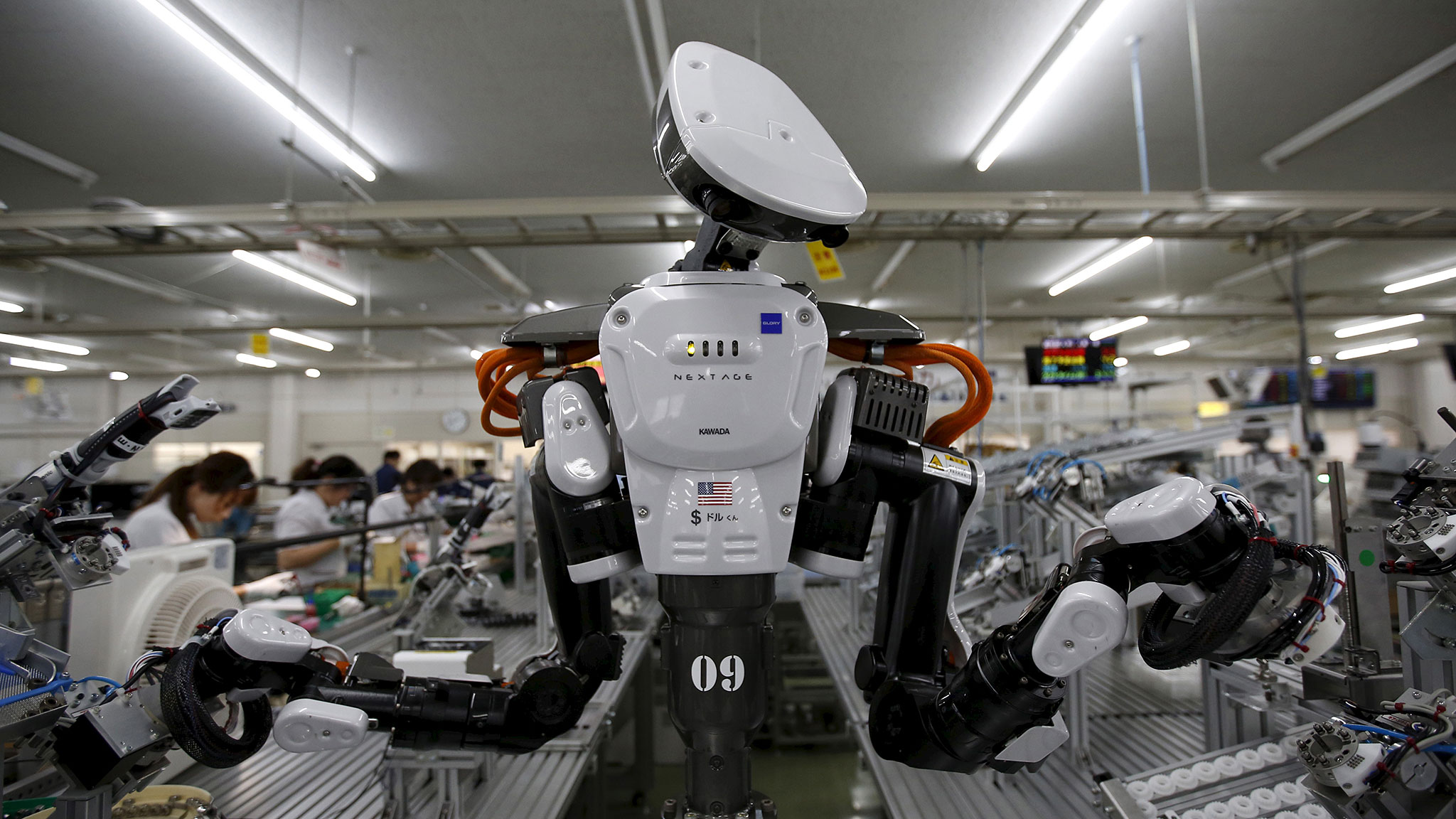 Are Japanese robots losing their edge to Silicon Valley