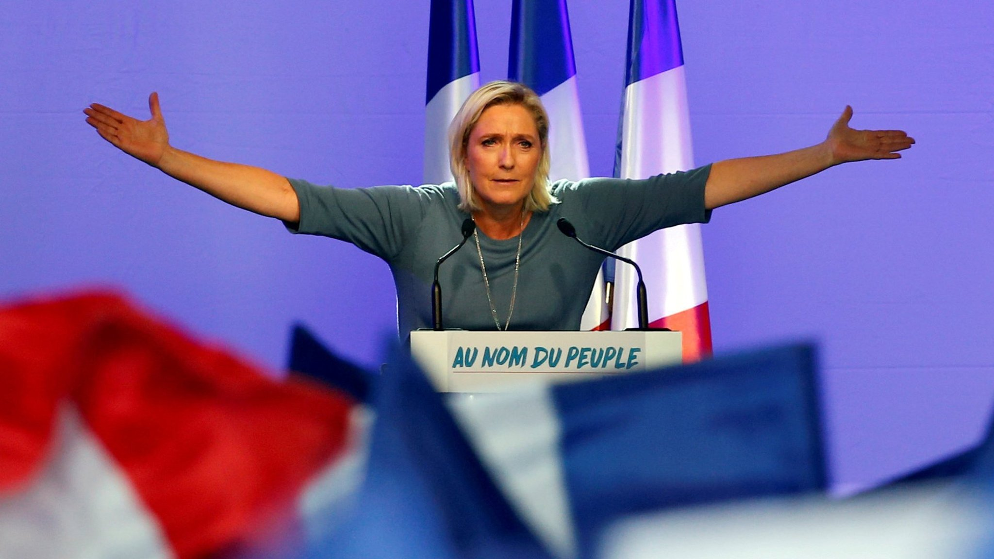 Rogers And Rogers Toyota >> Investors leave Marine Le Pen presidency unhedged