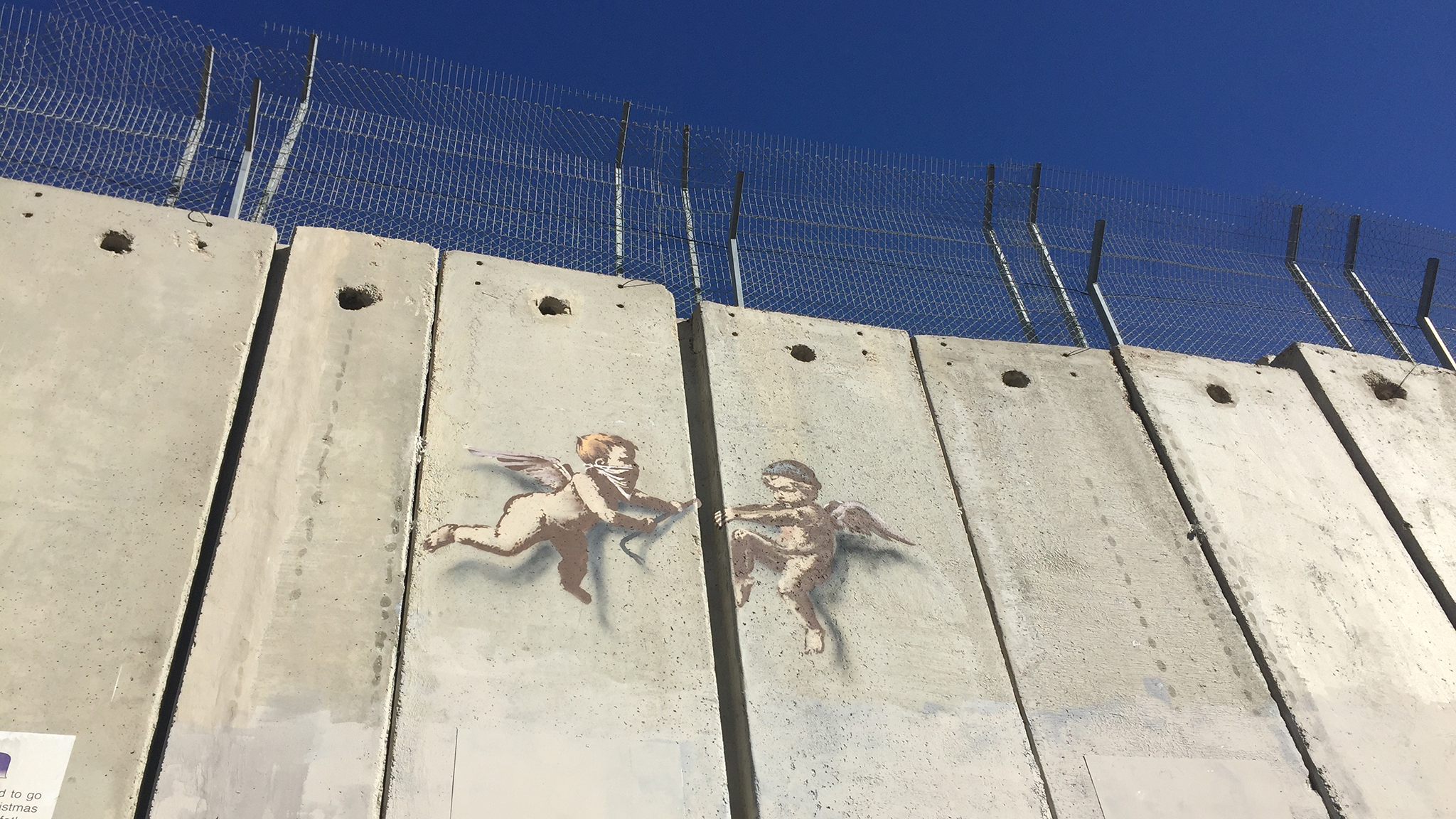 Banksy goes to Bethlehem