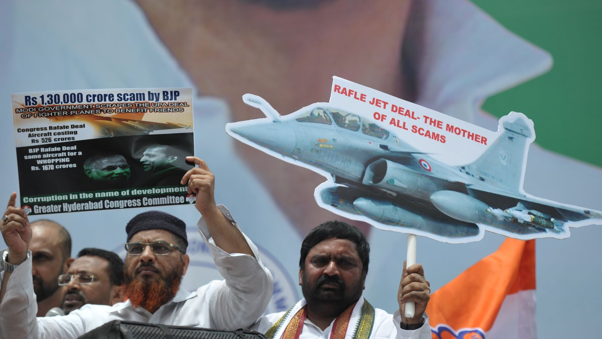 The scandal around the French-Indian deal on fighter Rafale