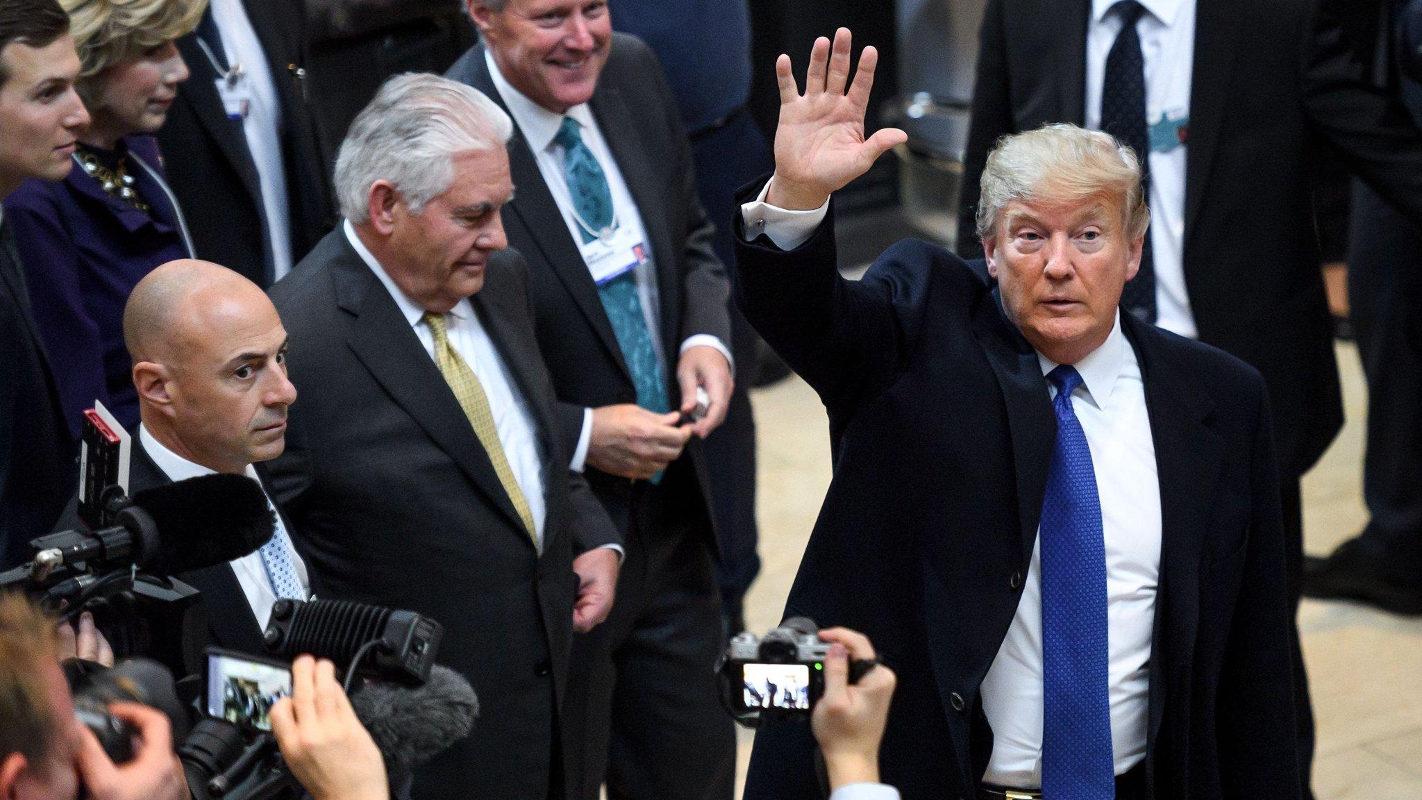 Trump opens door to US rejoining TPP
