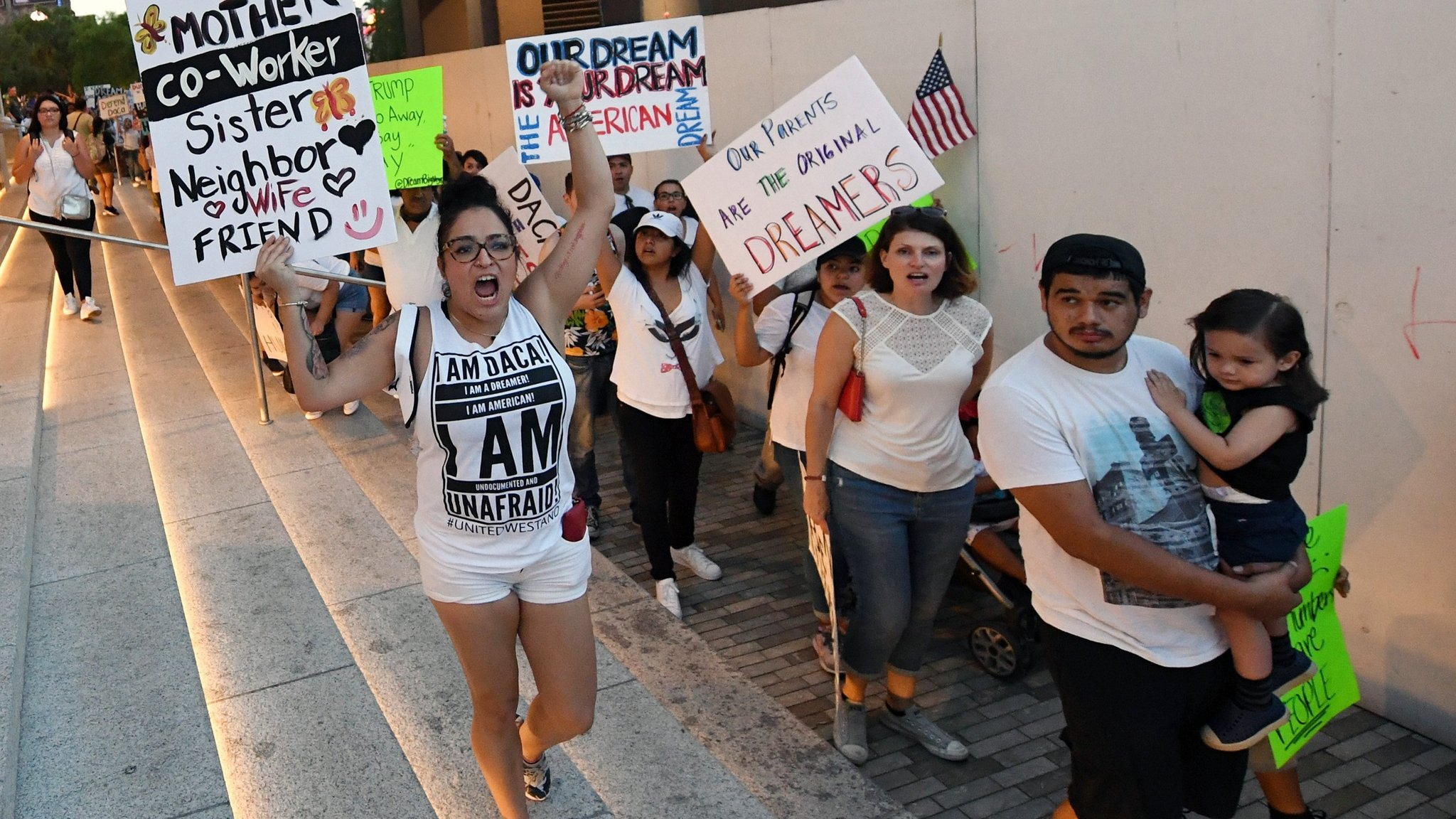US migrant 'Dreamers' wait anxiously to learn fate