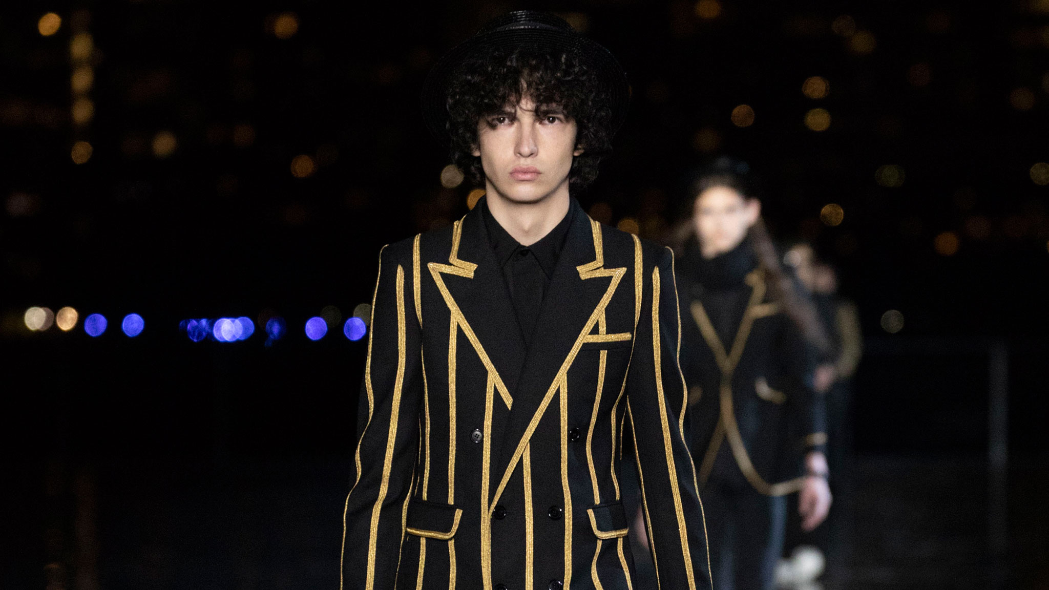 Saint Laurent Ss19 The Debut Menswear Show From Anthony Vaccarello