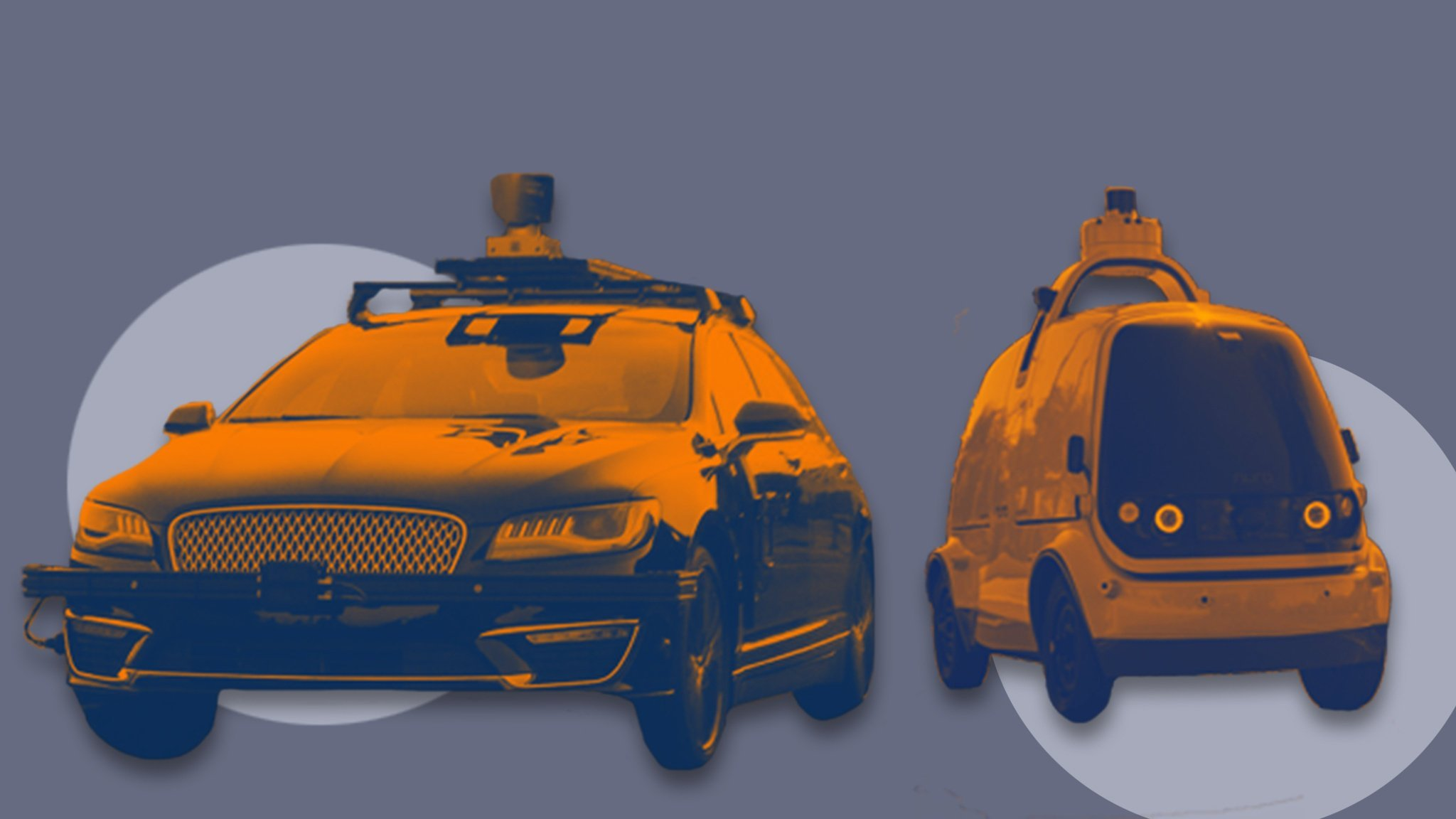 Leading self-driving car start-ups accelerate away from the