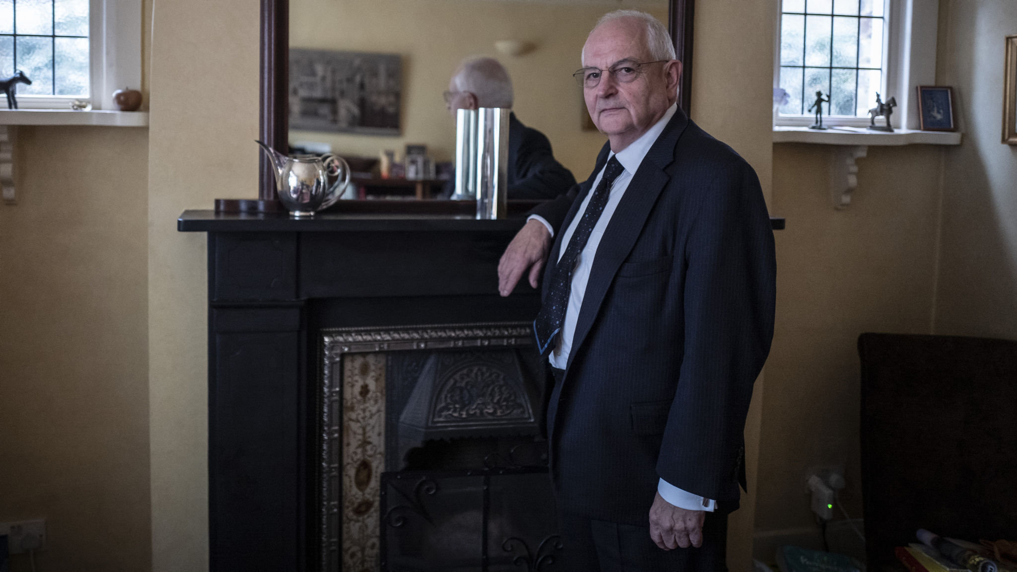 Martin Wolf accepts the Gerald Loeb Lifetime Achievement Award
