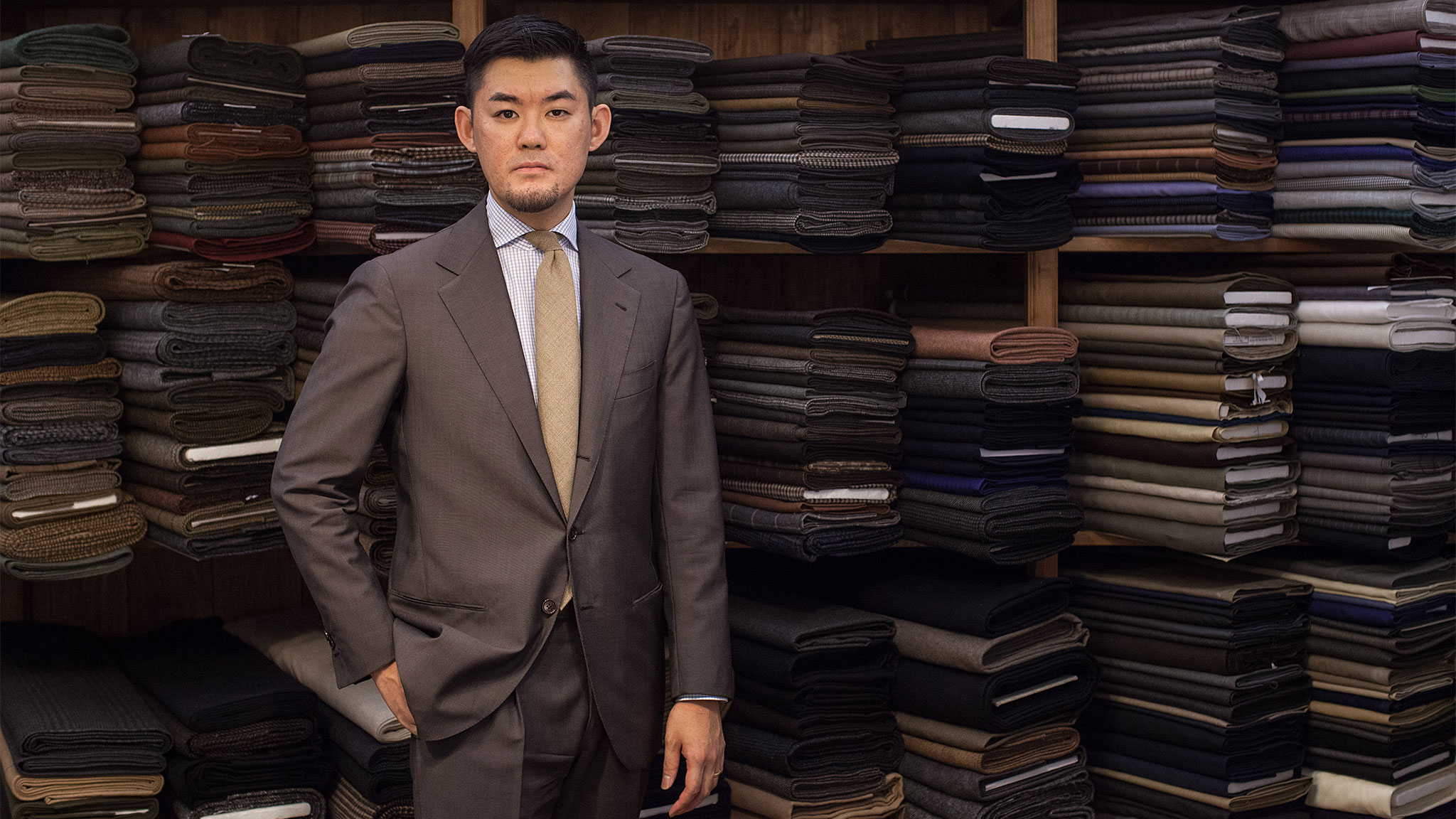 The Japanese tailor who found his perfect fit in Florence