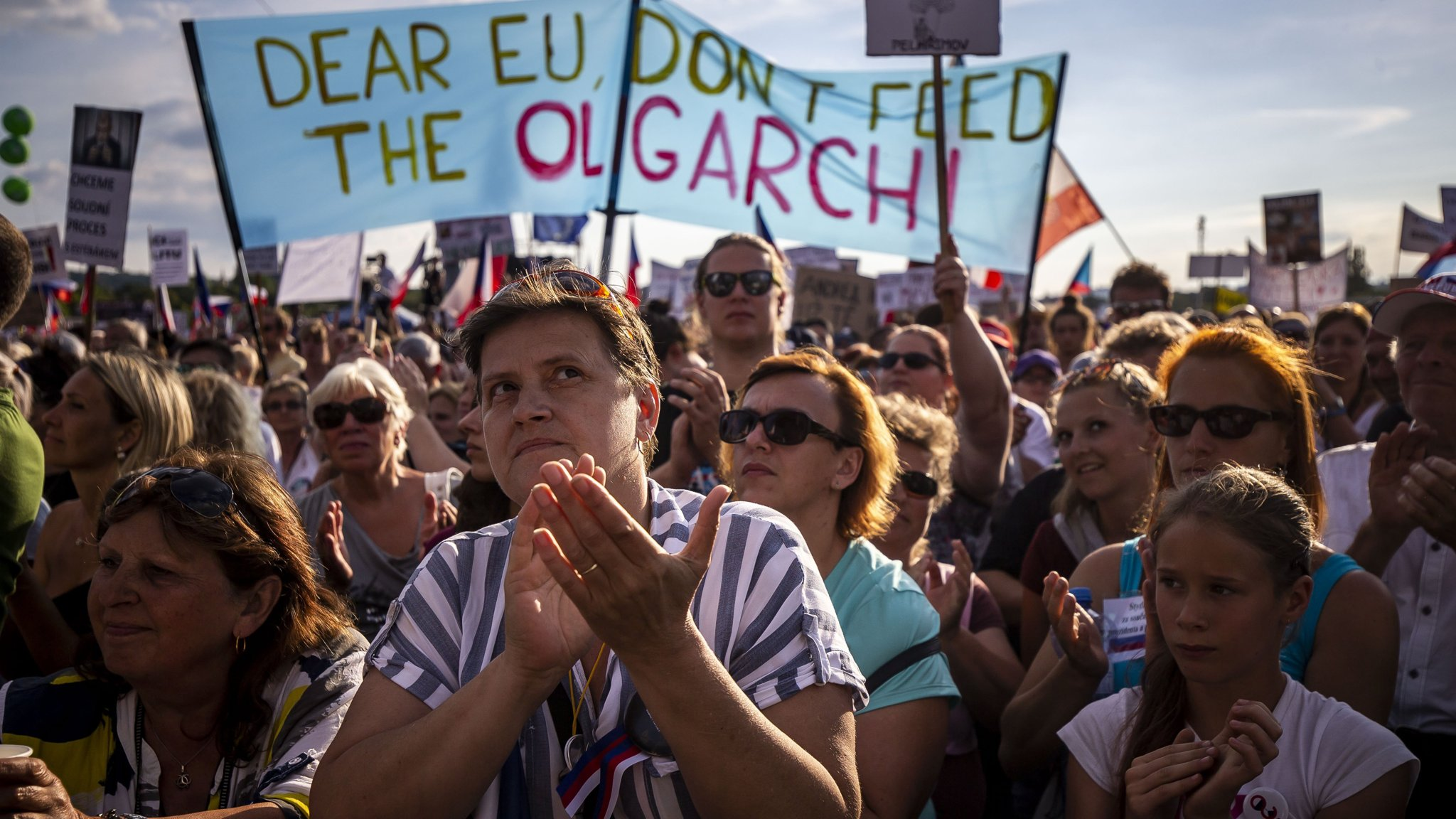 Czech protesters seek to reignite opposition to PM Andrej Babis