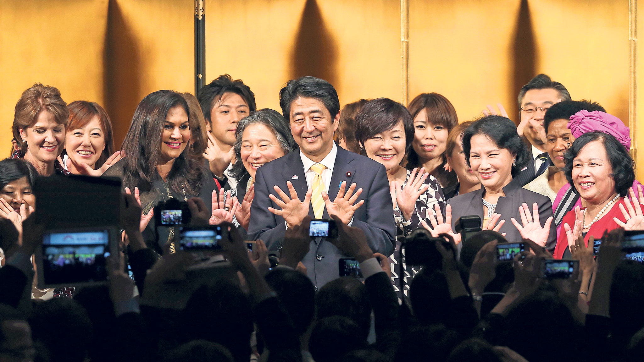 Usual female domination japan
