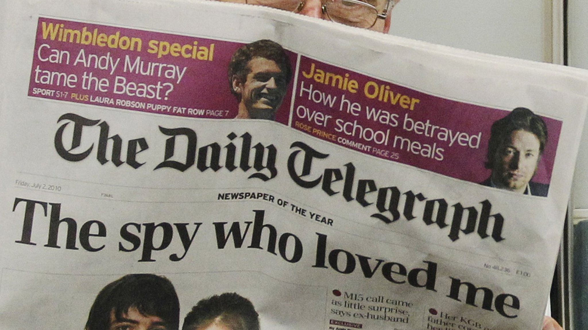 Watchdog criticises telegraph over advertorial falaconquin