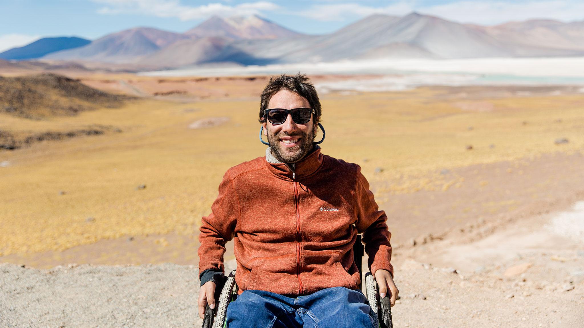 Disabled adventure travel entrepreneur's MBA journey