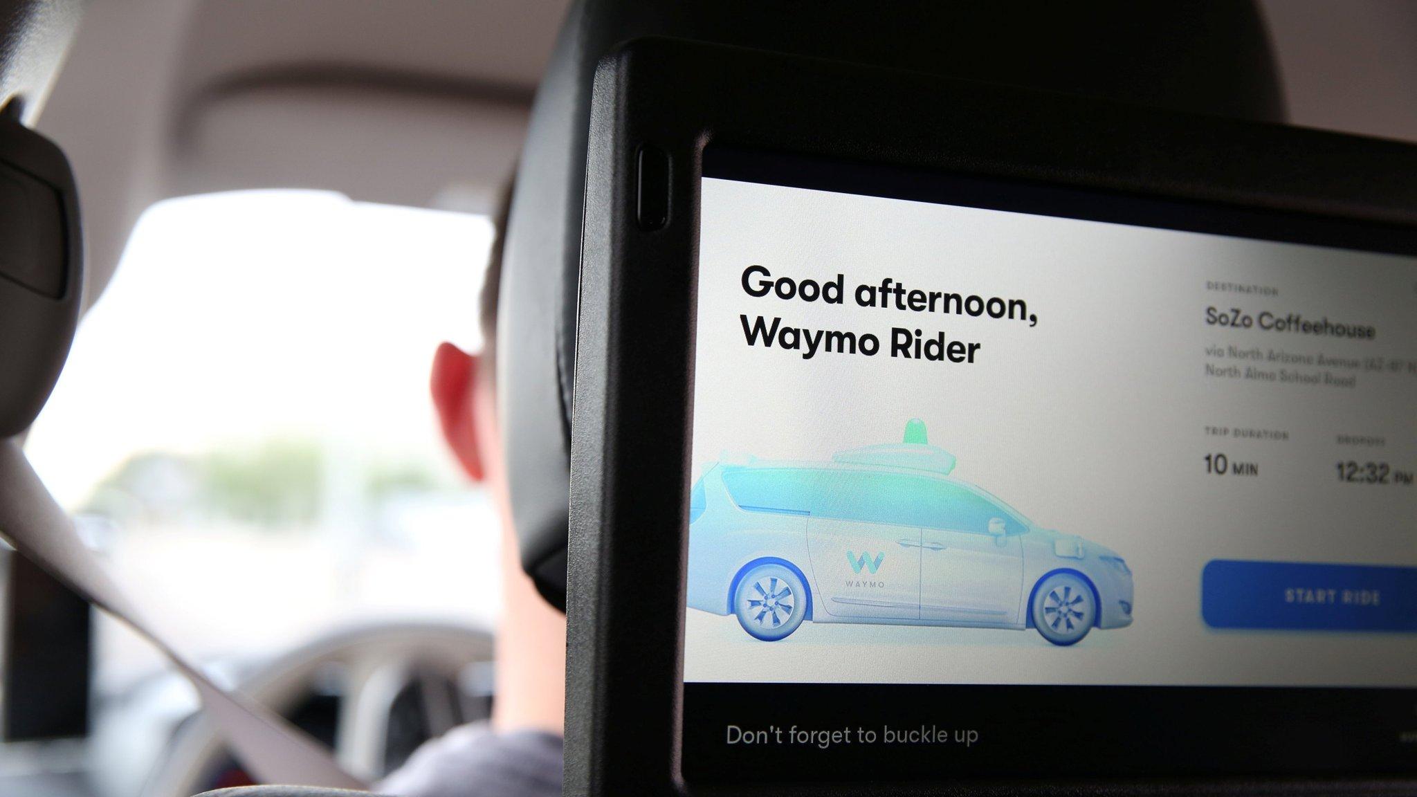 Waymo starts charging autonomous car riders in Arizona