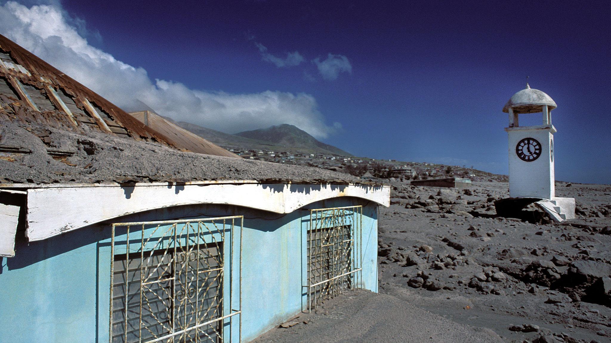 Montserrat Rises Out Of Soufri 232 Re Hills Ashes