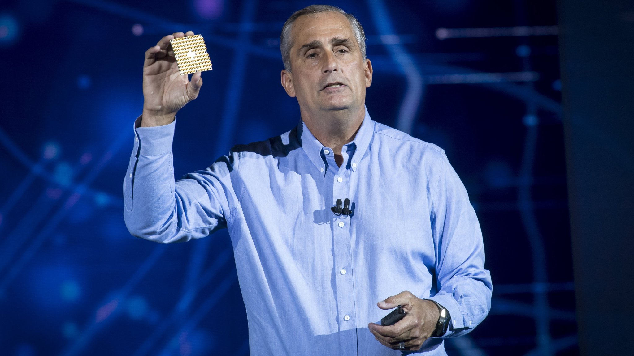 Intel's Brian Krzanich defends response to chip security flaw