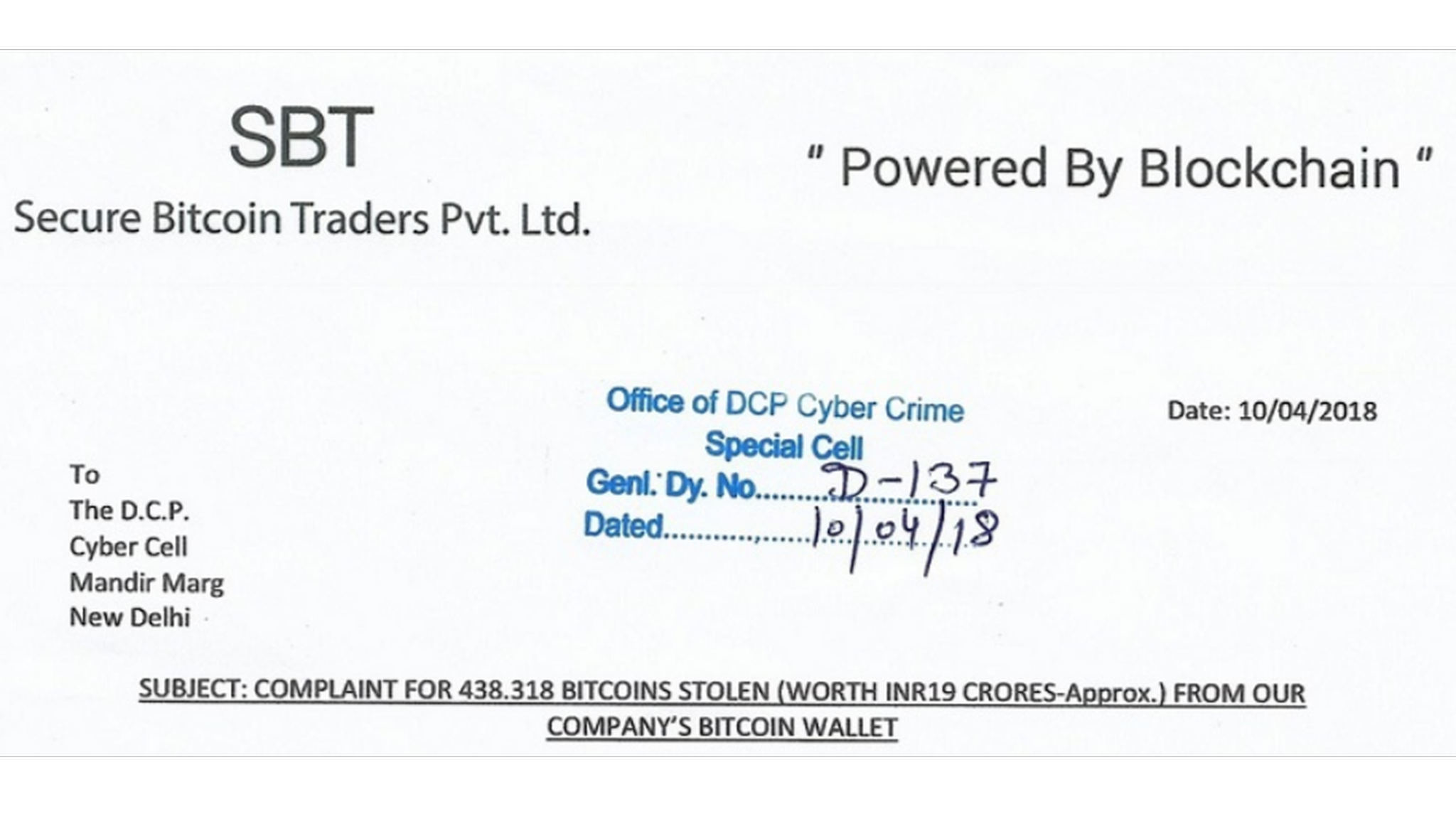 secure bitcoin traders pvt ltd