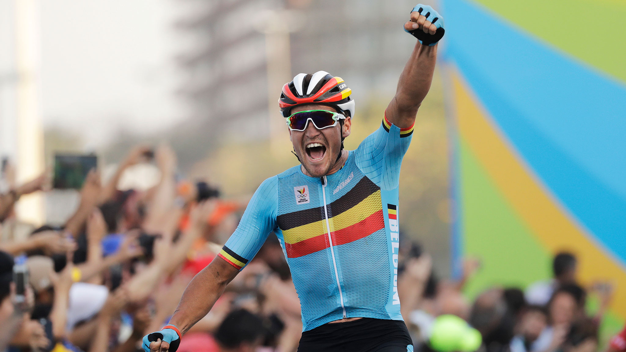 Rio Olympics 2016  Belgian wins brutal men s cycling road race ... f32d10b9f