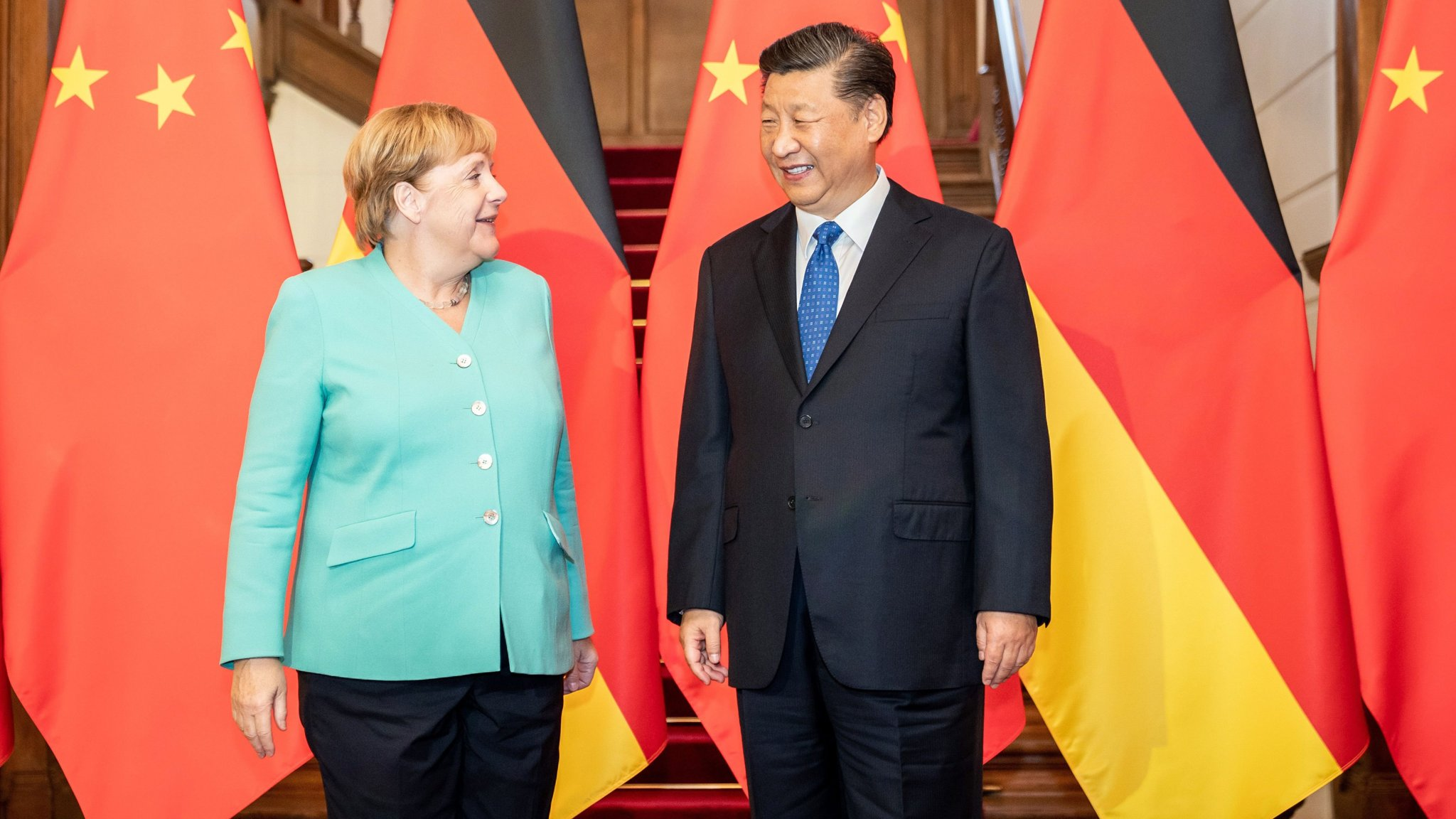 Angela  calls on China to protect 'rights and freedoms' in Hong Kong    Financial Times