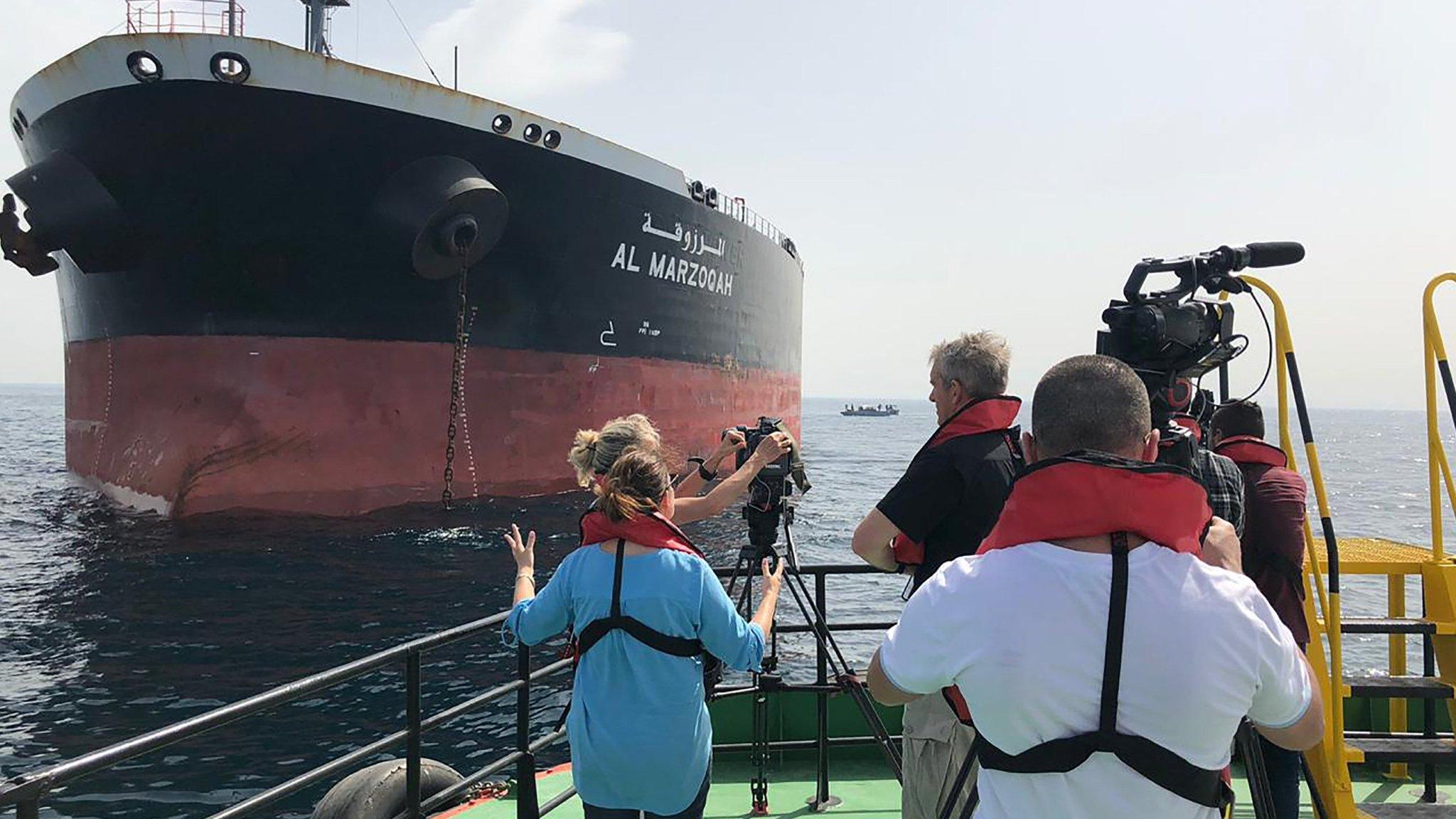 Saudi Arabia says two oil tankers attacked near UAE