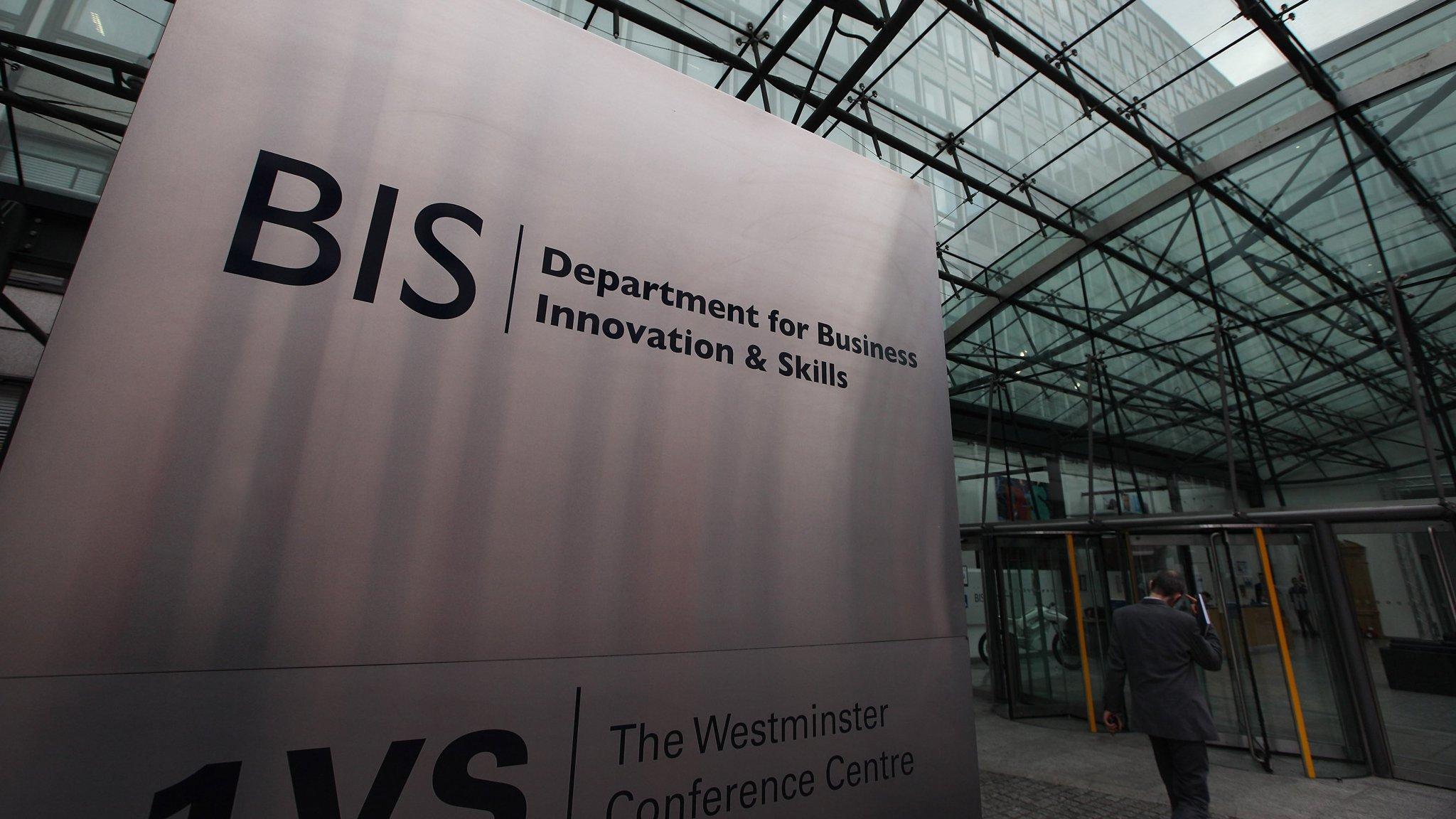 UK business department rebranding highlights quandaries