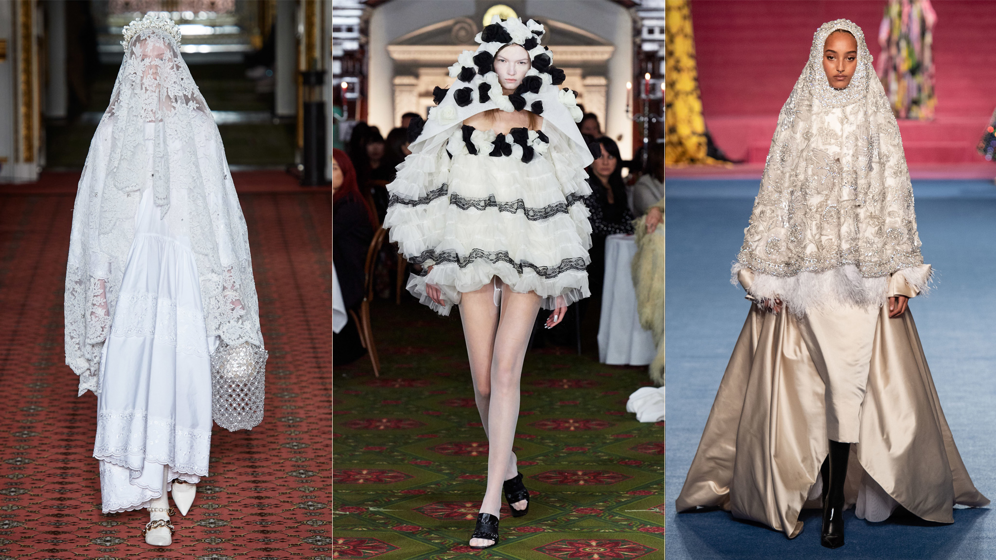 The Surprise Trend Of Fashion Week Brides Financial Times