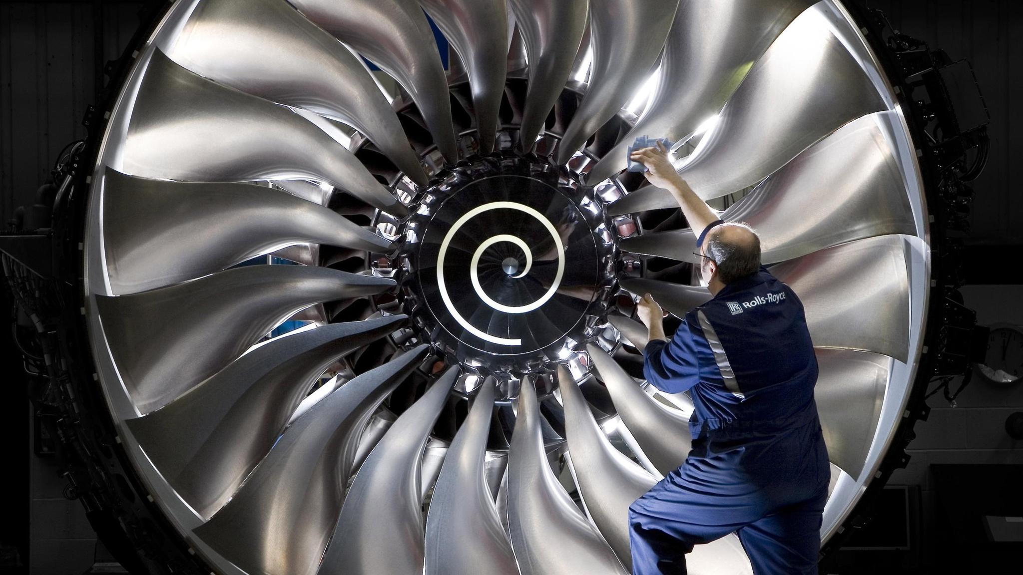 Aircraft Engine Wallpaper 84228