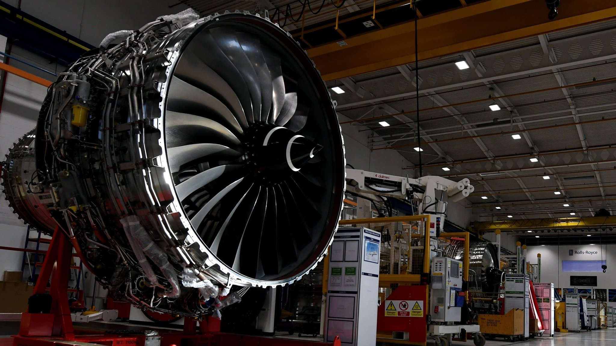 Rolls Royce plans new test plant for Derby