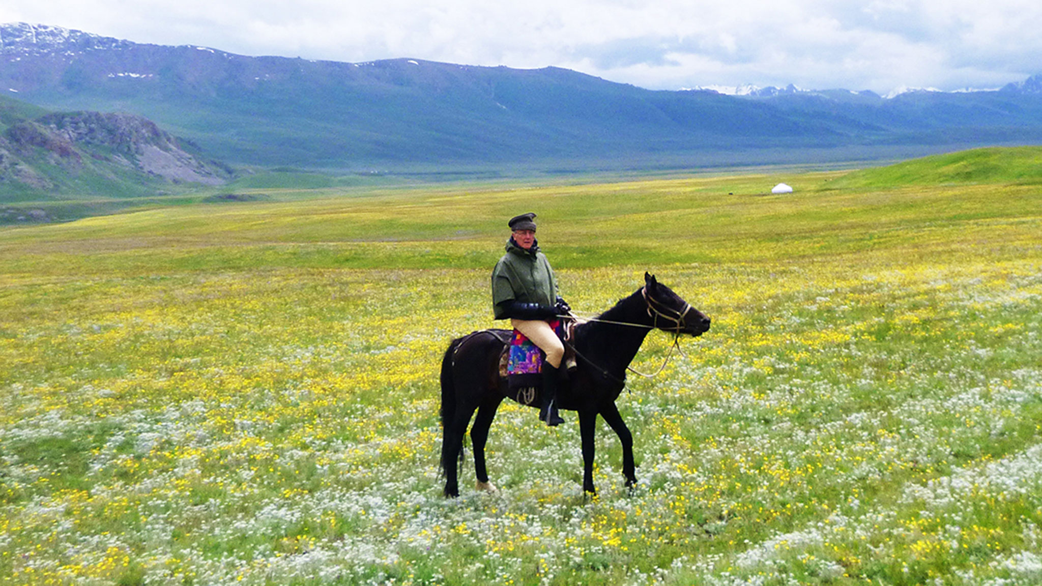 Hunt For Wild Flowers In The Mountains And Meadows Of Kyrgyzstan