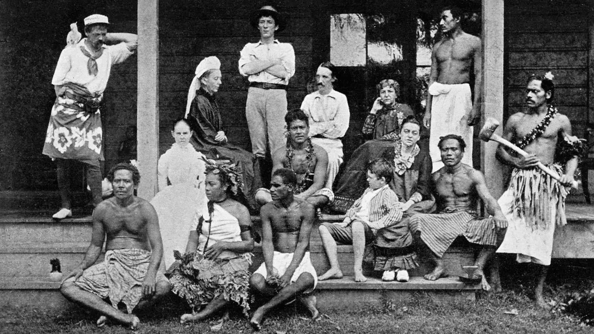 robert louis stevenson in samoa by joseph farrell  u2014 teller of tales