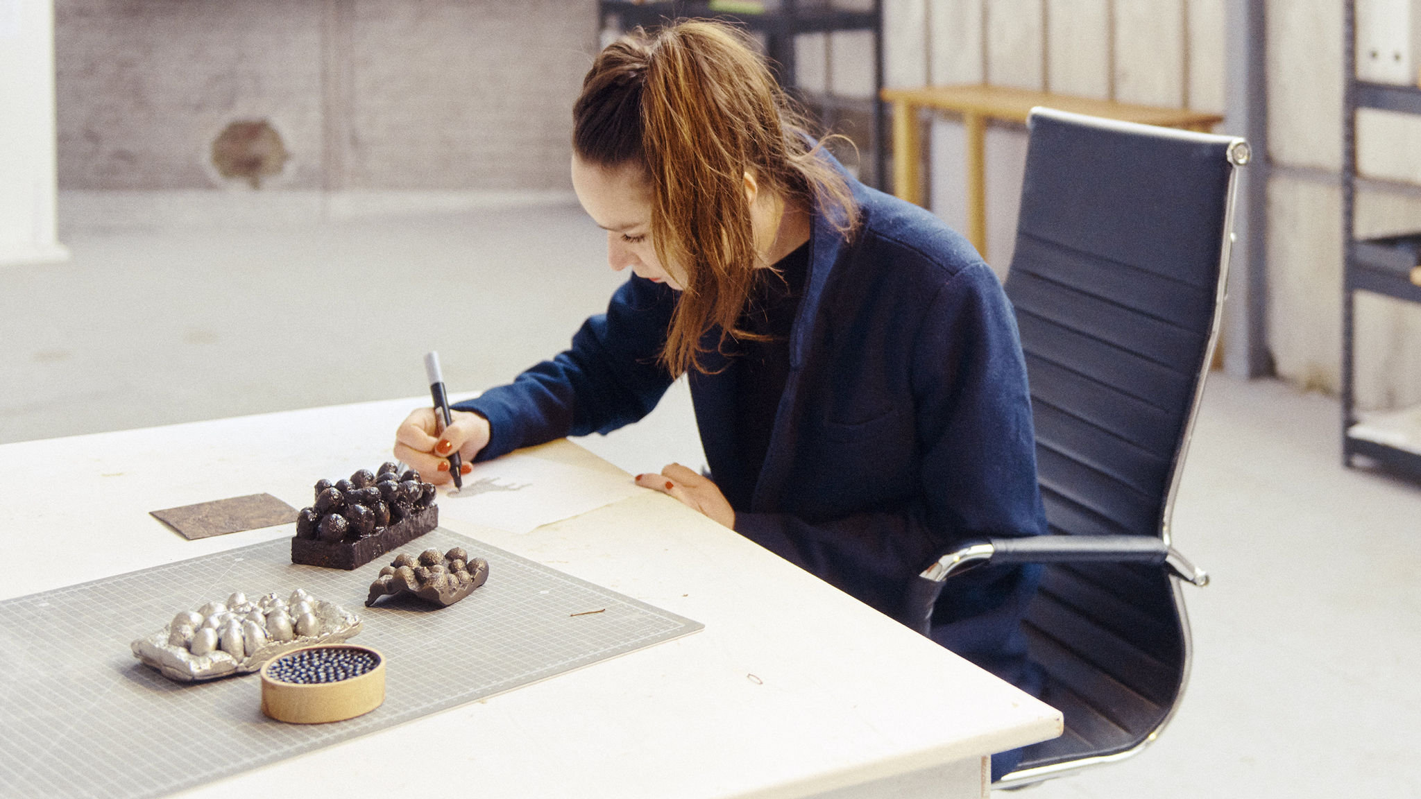 The designer who makes furniture from 'bee glue'   Financial