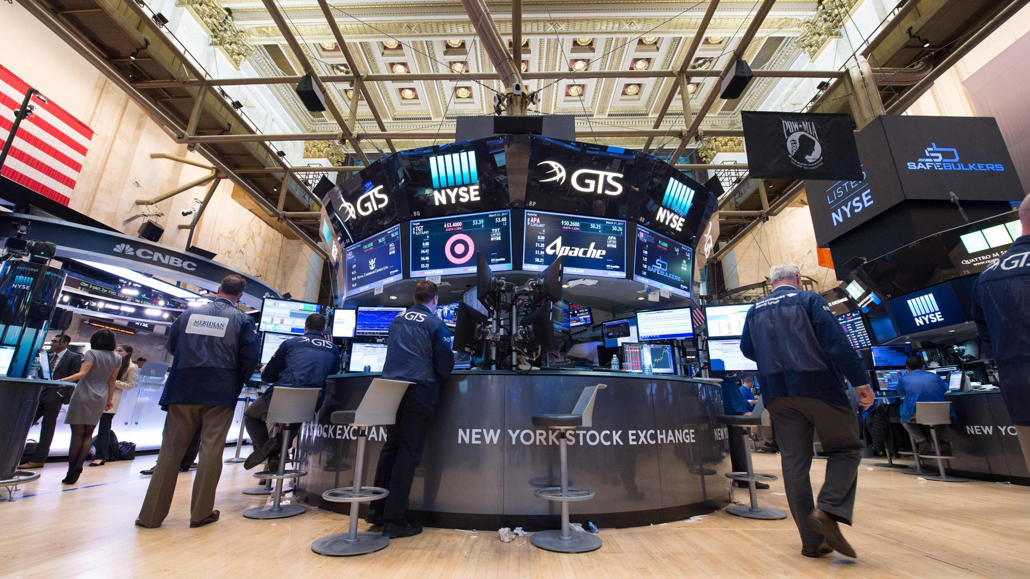 US Markets Hit By Biggest Decline Since Before Trumps