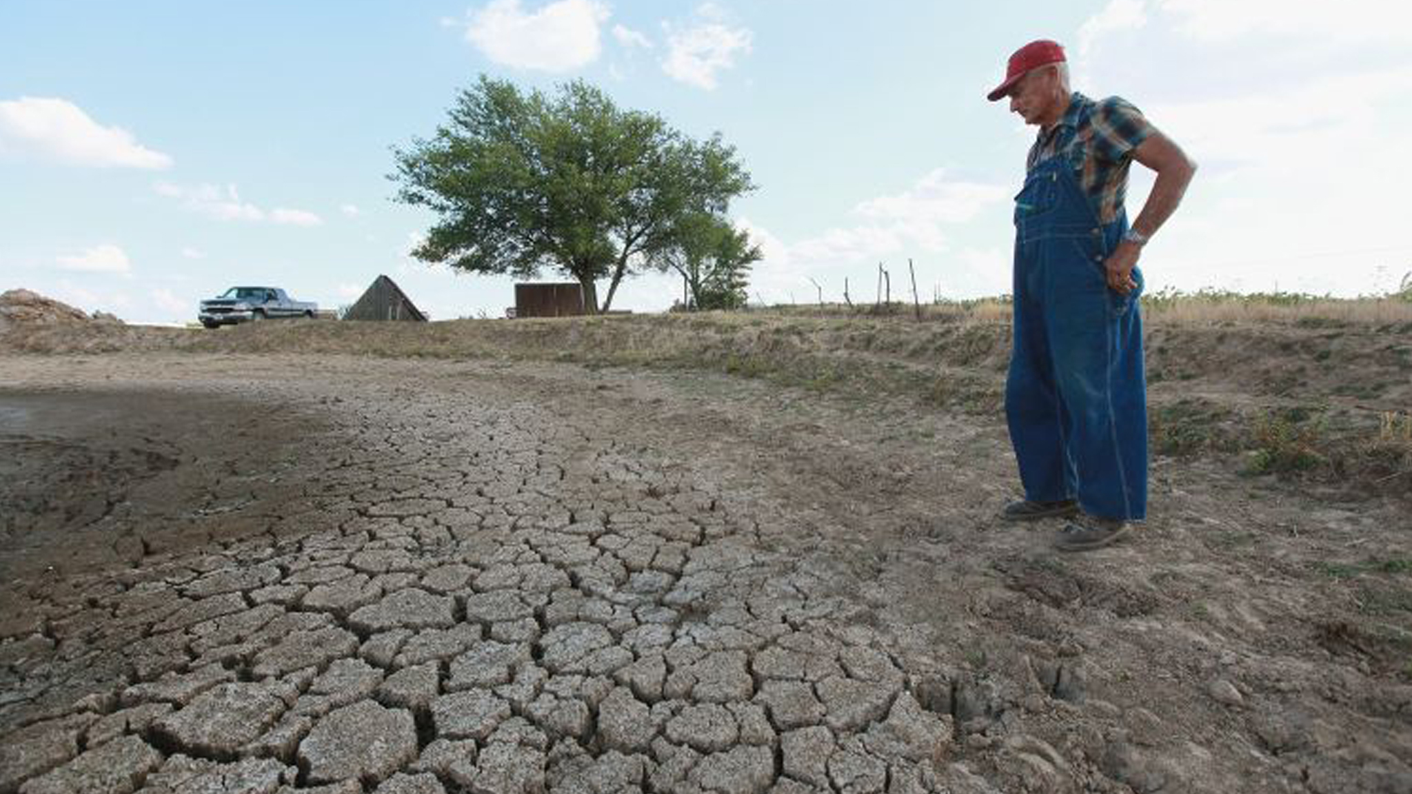 US drought: Stuck on dry land | Financial Times