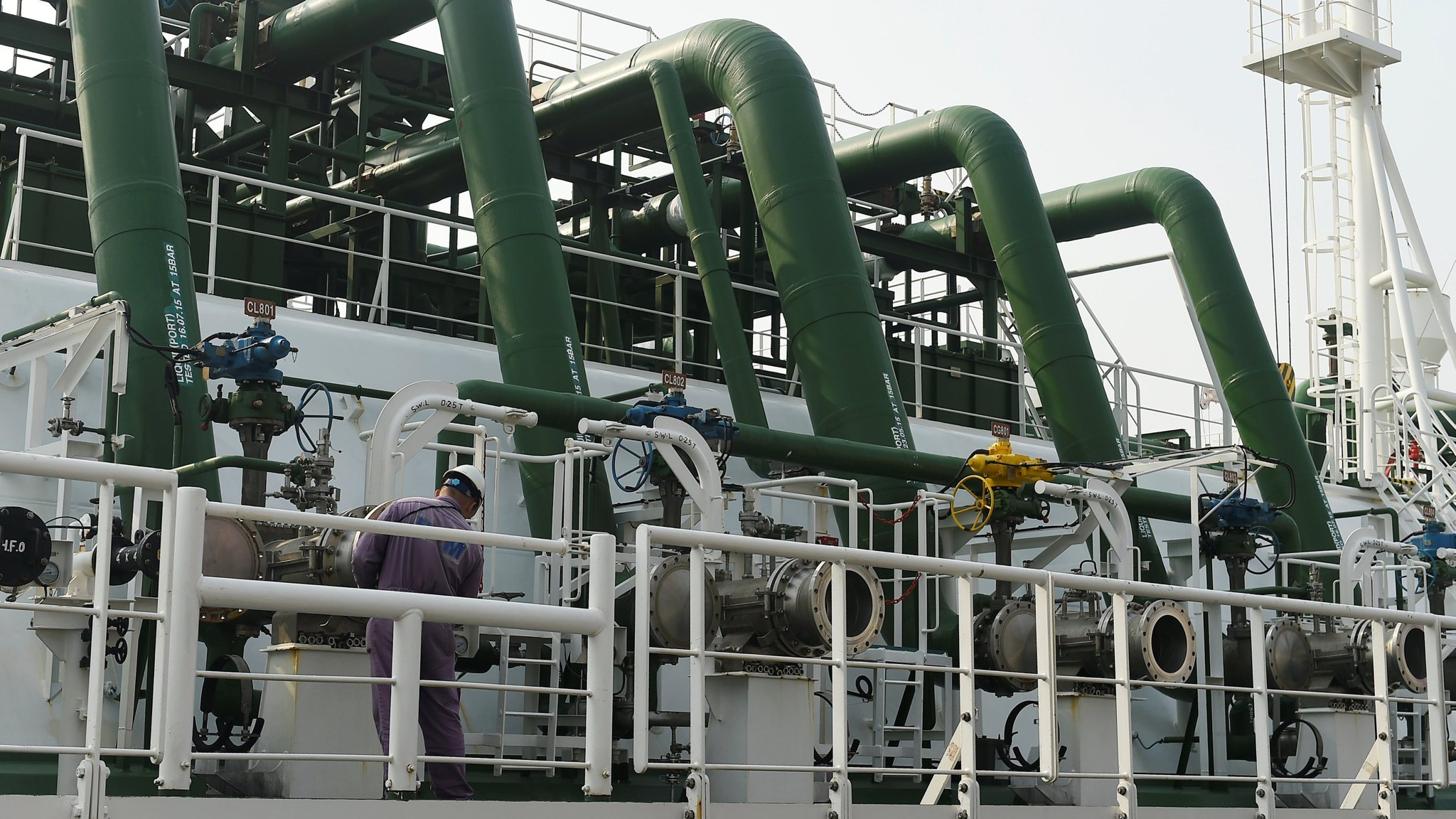 Asian LNG prices at three-year high as China curbs pollution