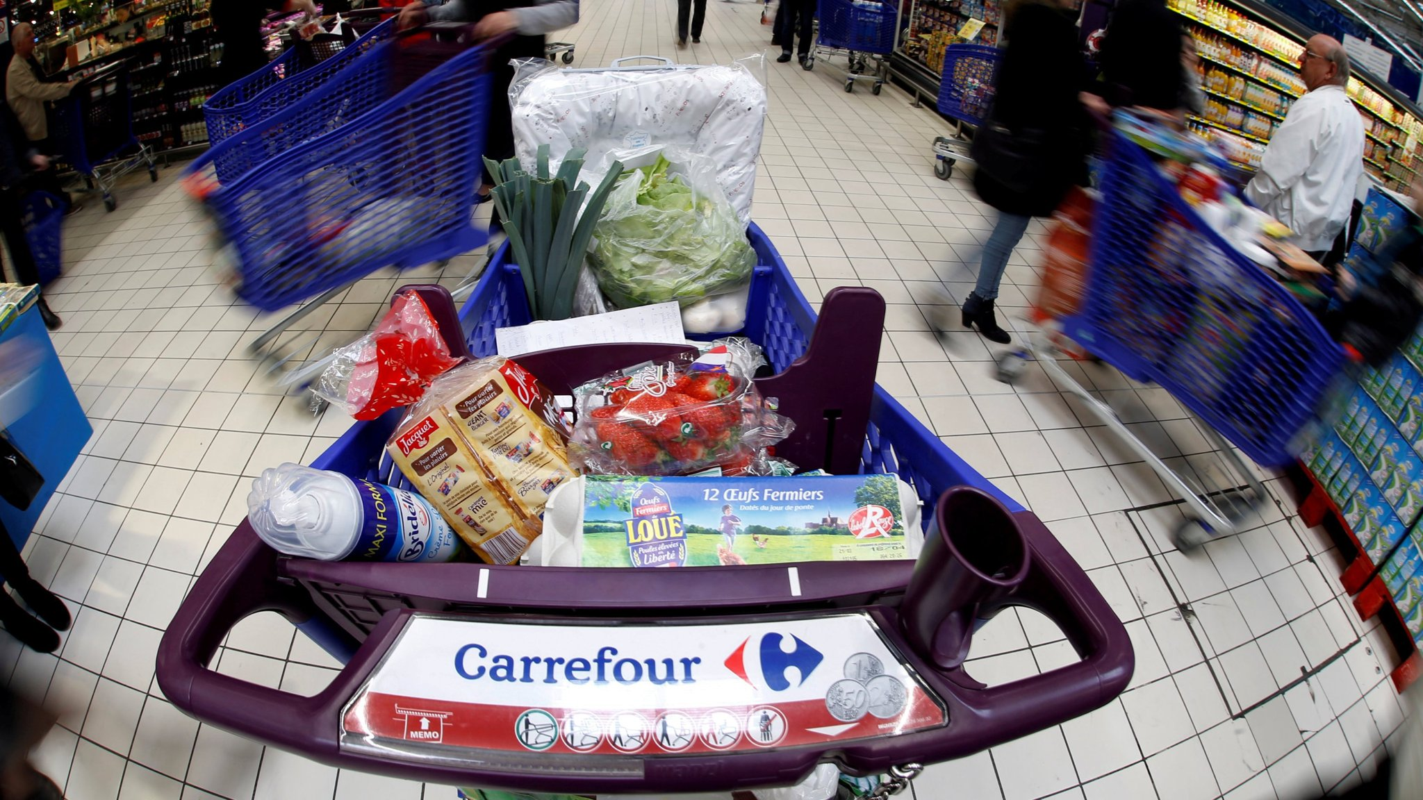 Carrefour Partners With Google For Digital Push Financial Times