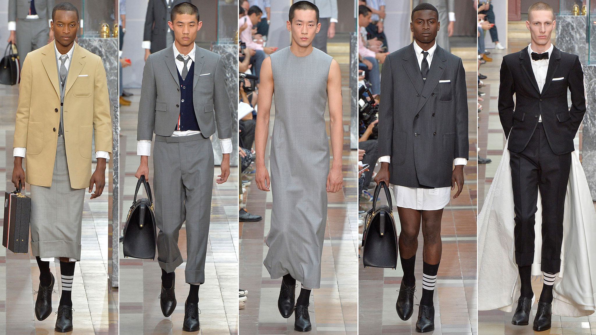 The Big Question At Thom Browne