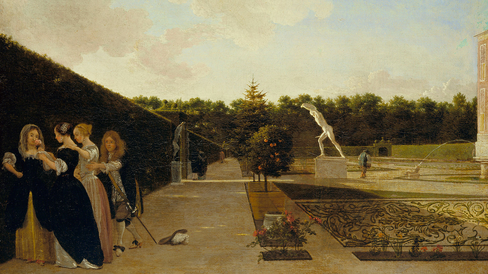 A cultivated view of paradise: the art of painting gardens ...