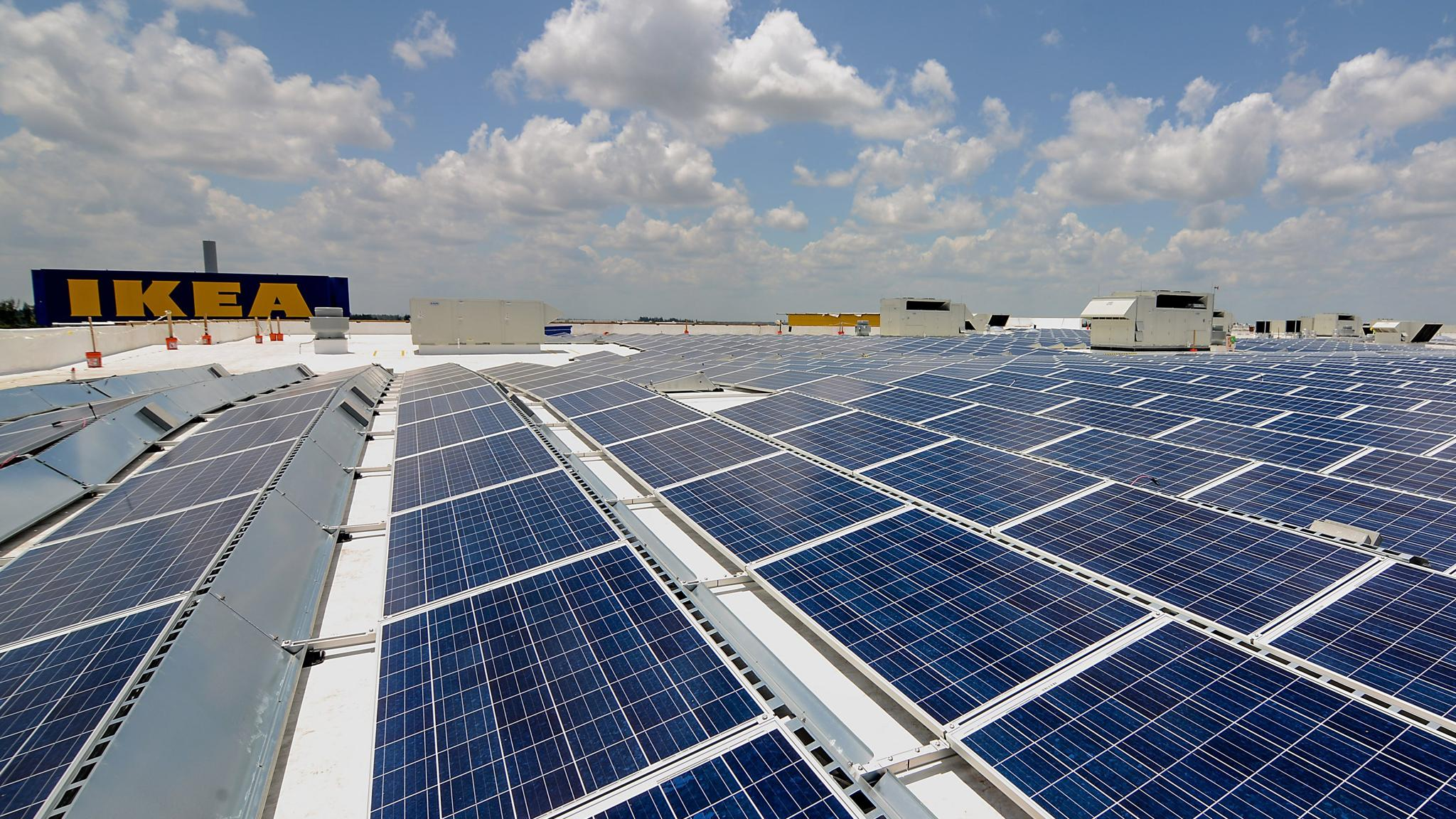 Ikea Ends Residential Solar Panel Deal With Hanergy Financial Times