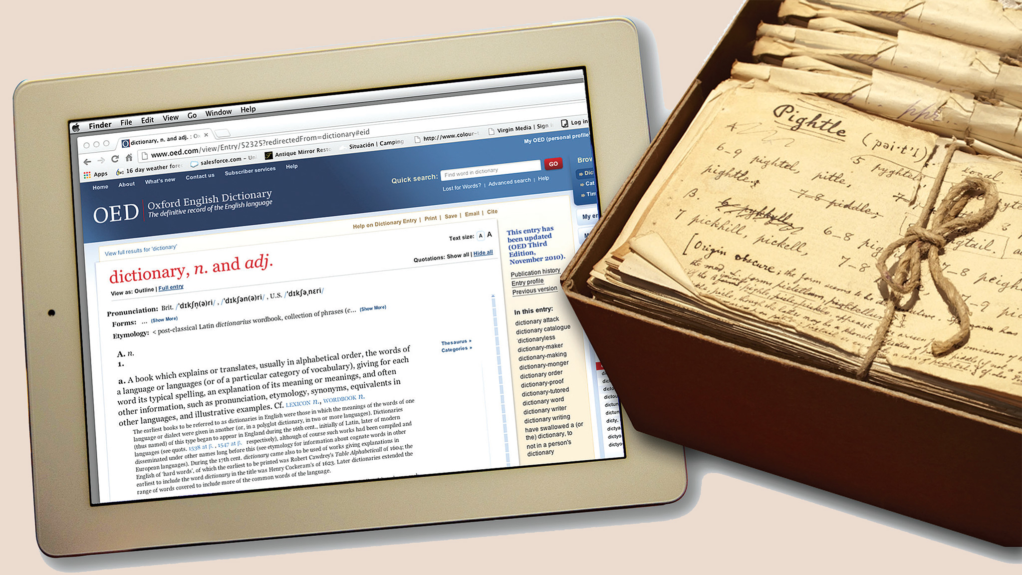 The Evolving Role Of The Oxford English Dictionary Financial Times