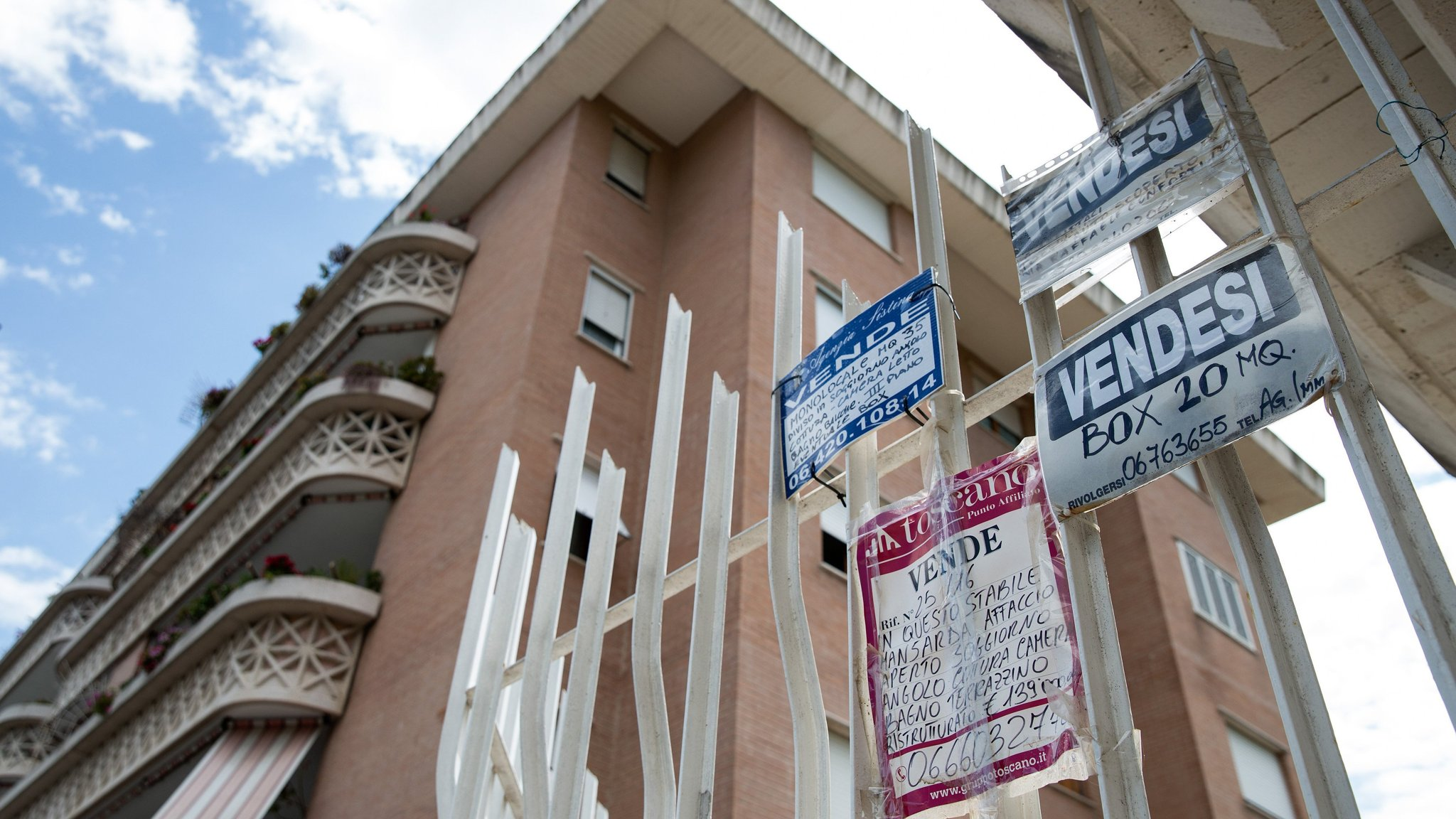How Italy's property slump weighs on banks and voters