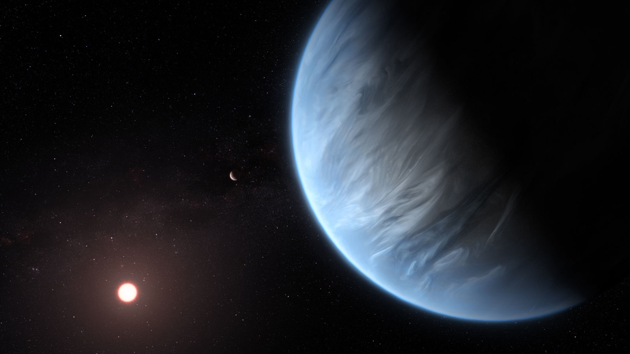 First water detected in atmosphere of habitable planet