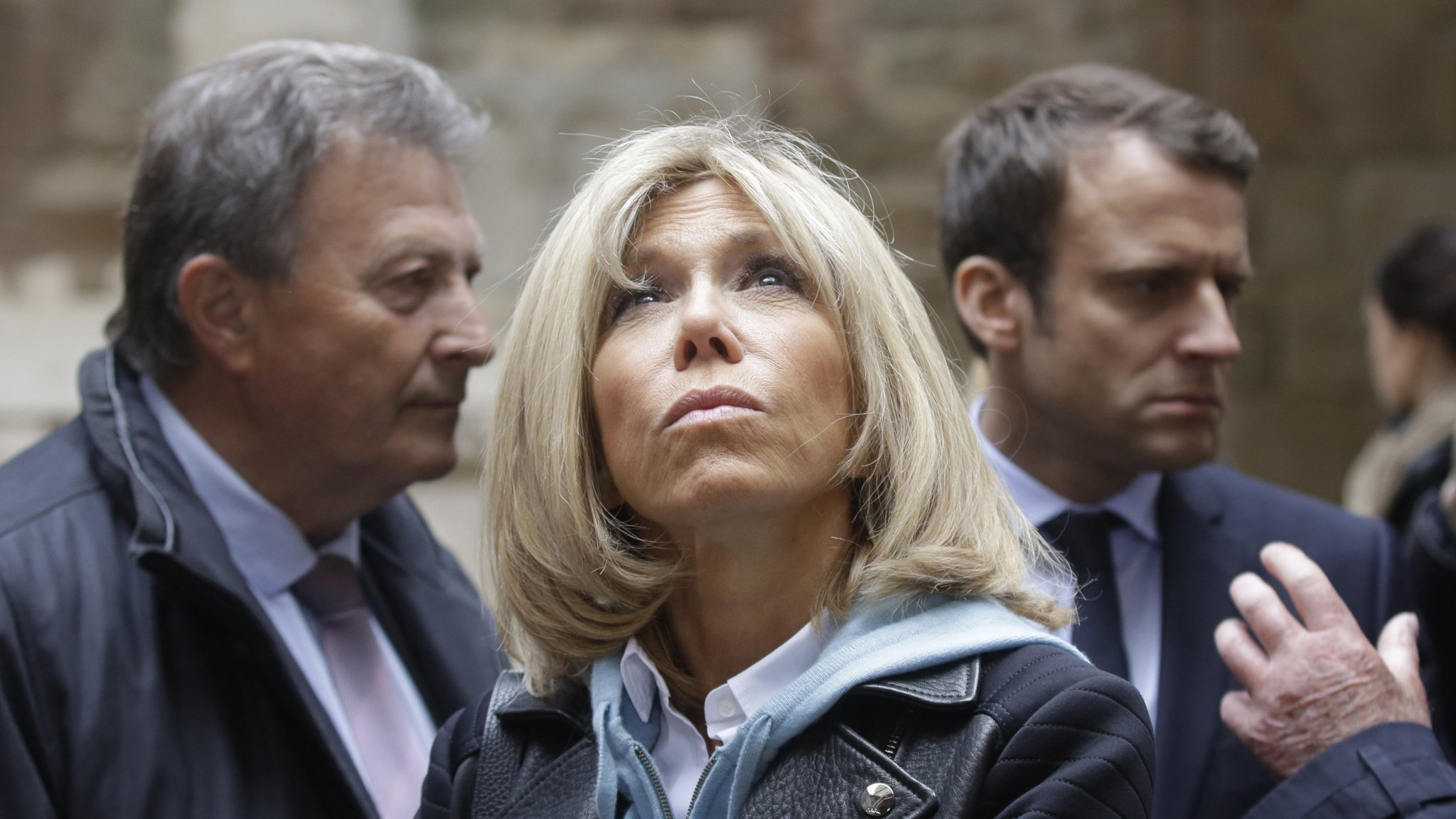 Macron S Wife Is The Power Behind His Campaign Financial Times