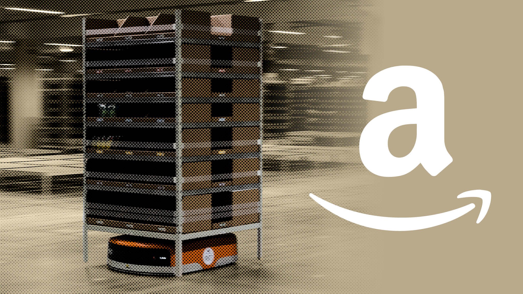 Amazon robots bring a brave new world to the warehouse