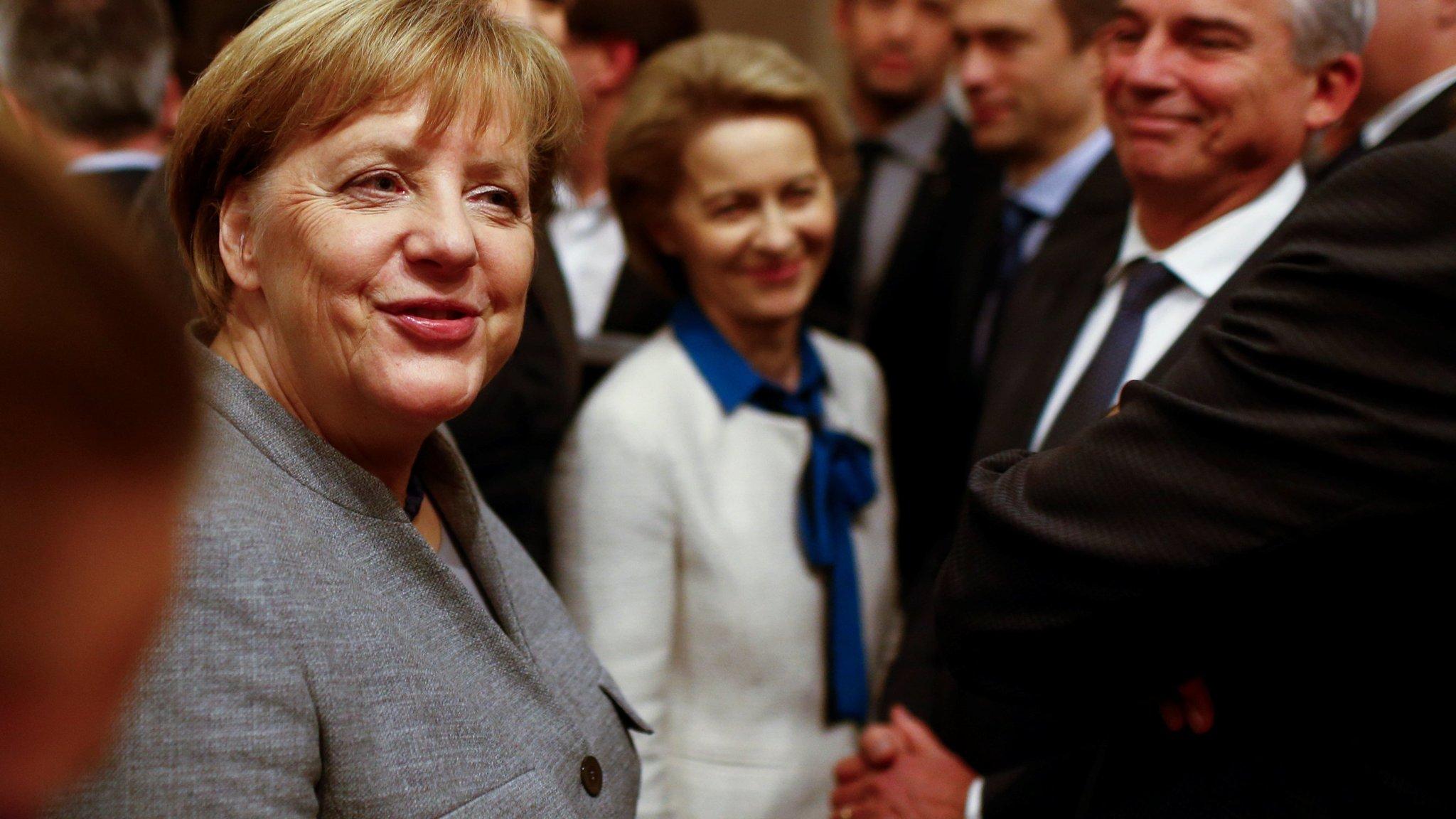 A wobbly Merkel means a weaker Europe