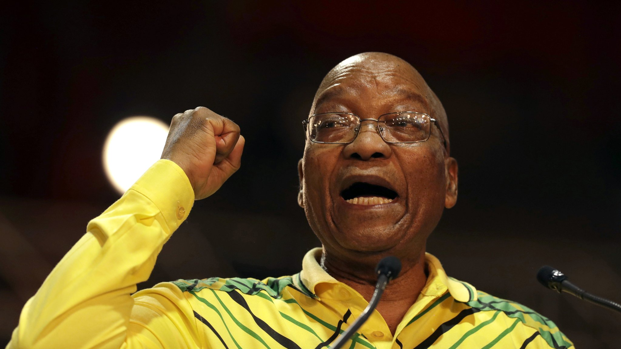 Jacob Zuma accuses business of trying to sway ANC leadership vote