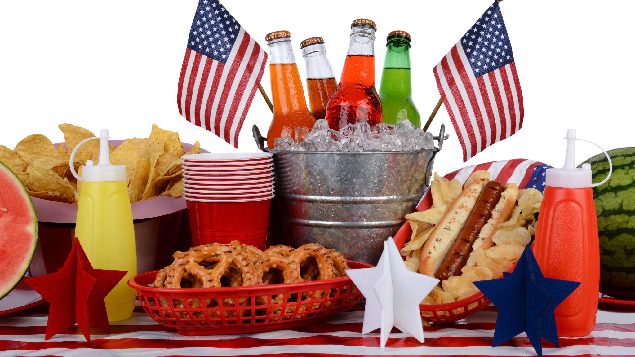 Americans broaden their July 4 appetites beyond beer and burgers
