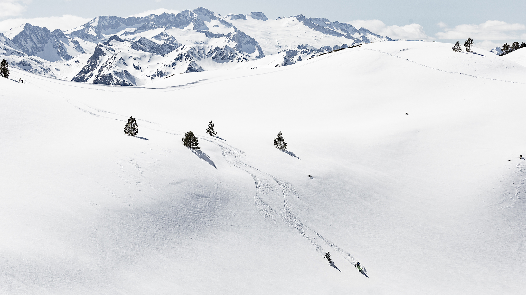 The valley of delights: heli-skiing in Spain