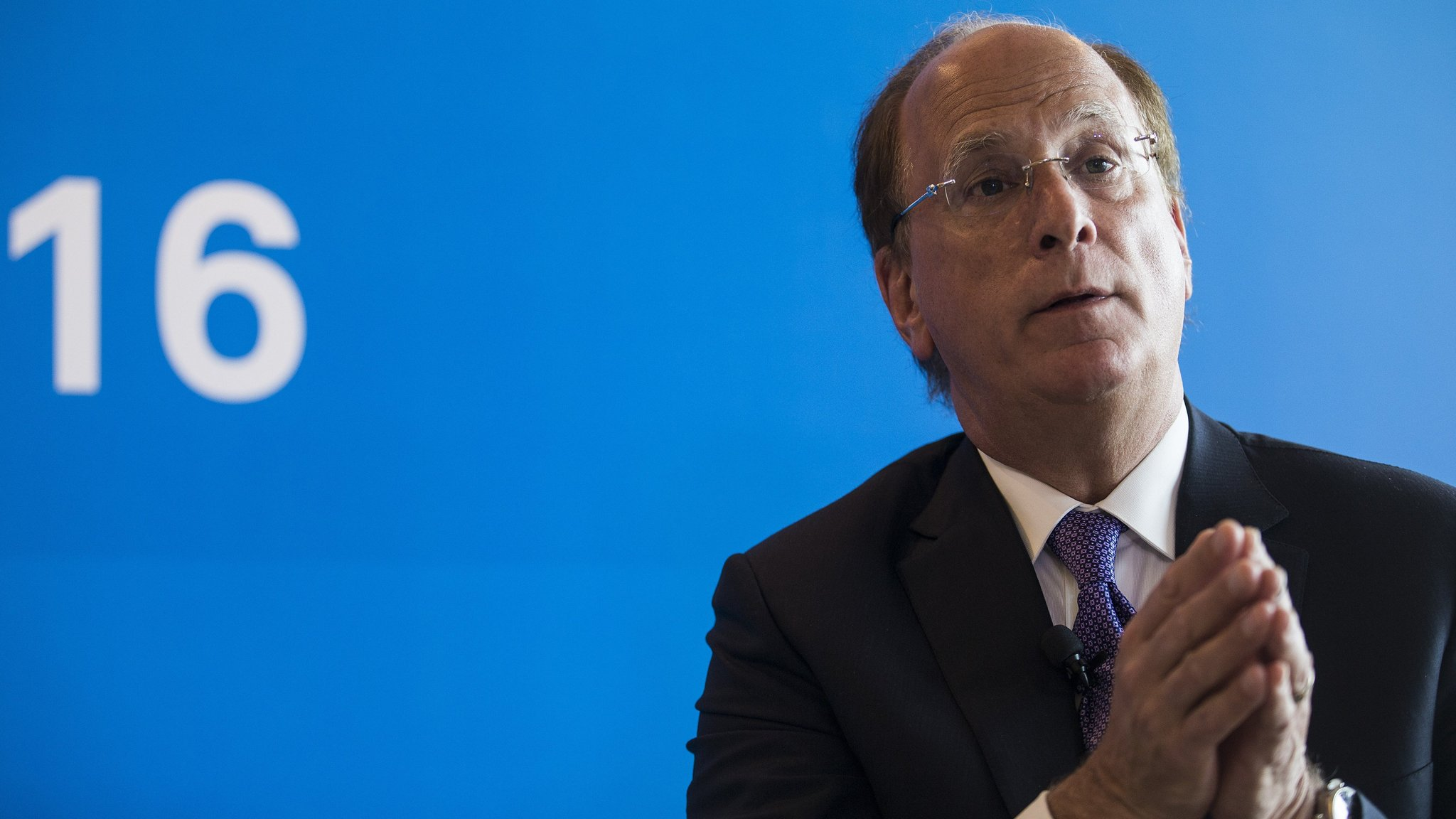 BlackRock chief Larry Fink issues companies with code of conduct