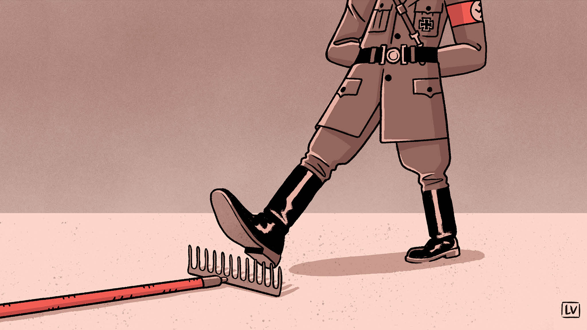 Is it ever OK to joke about the Nazis?