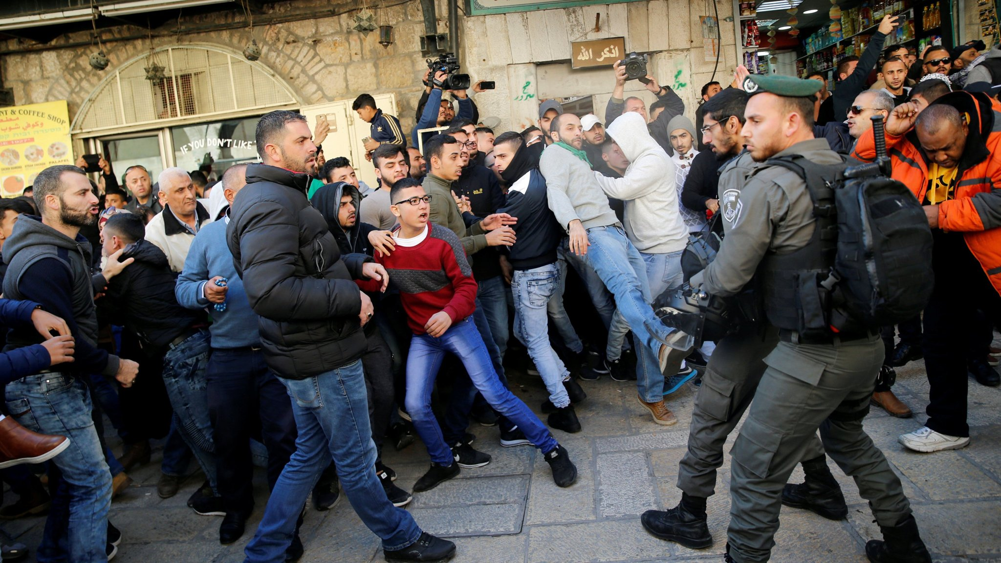 Israeli forces retaliate against Palestinian 'day of rage'