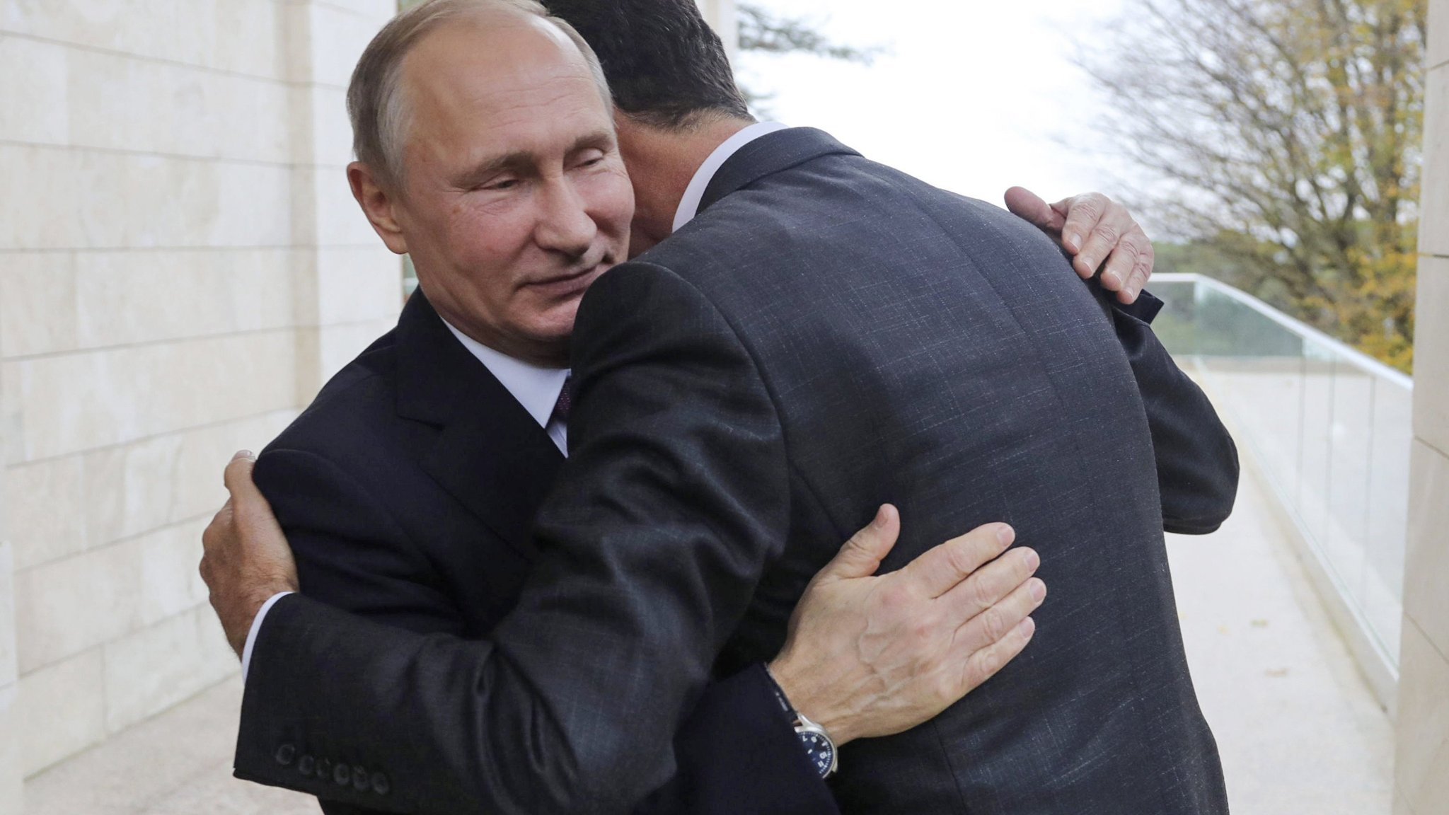 Russia's military operation in Syria nears end, say Assad and Putin