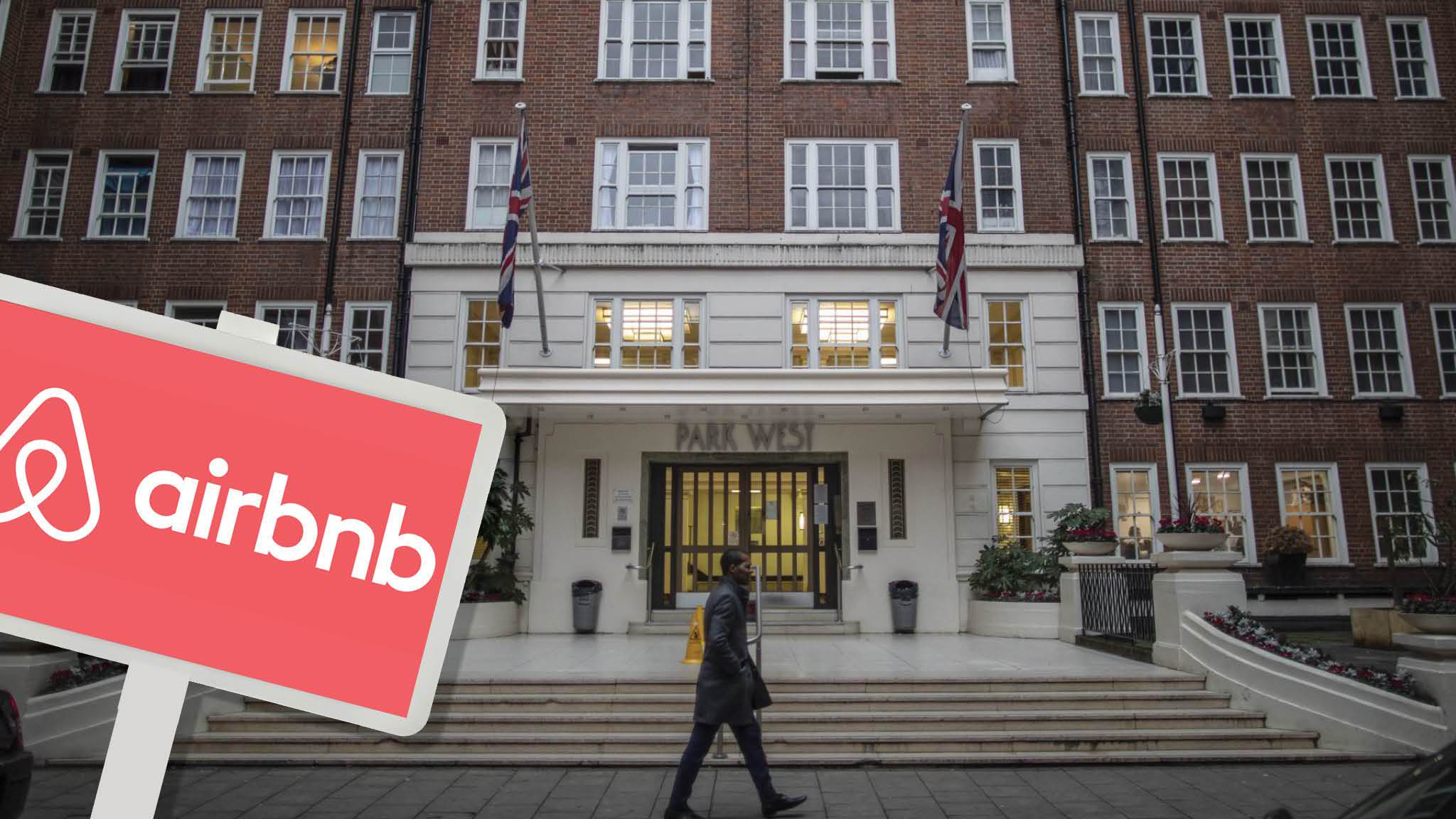 Airbnb rentals in London block sparks call for action
