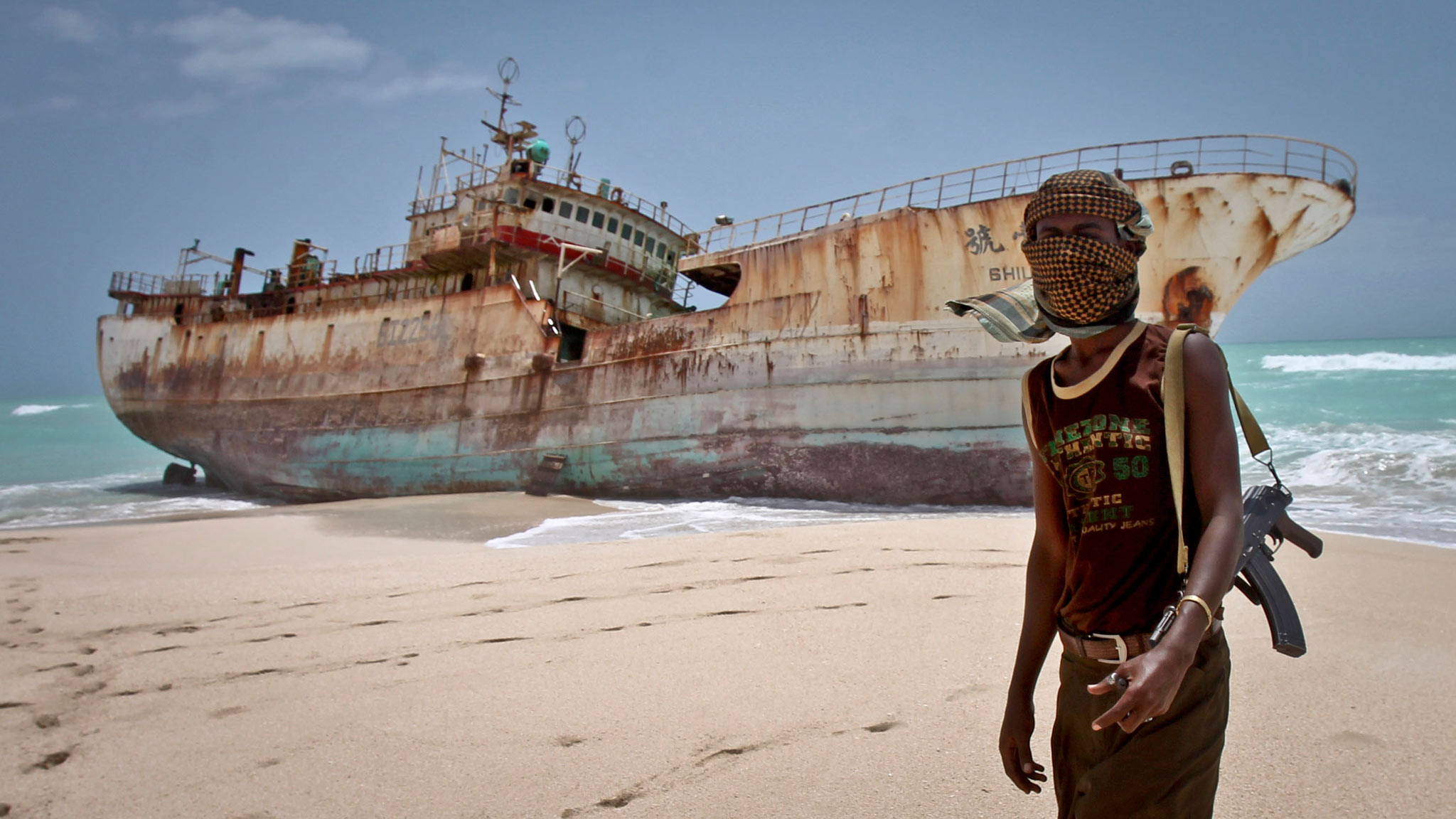 Somalia oil thrown on the fire for K9 fishing line